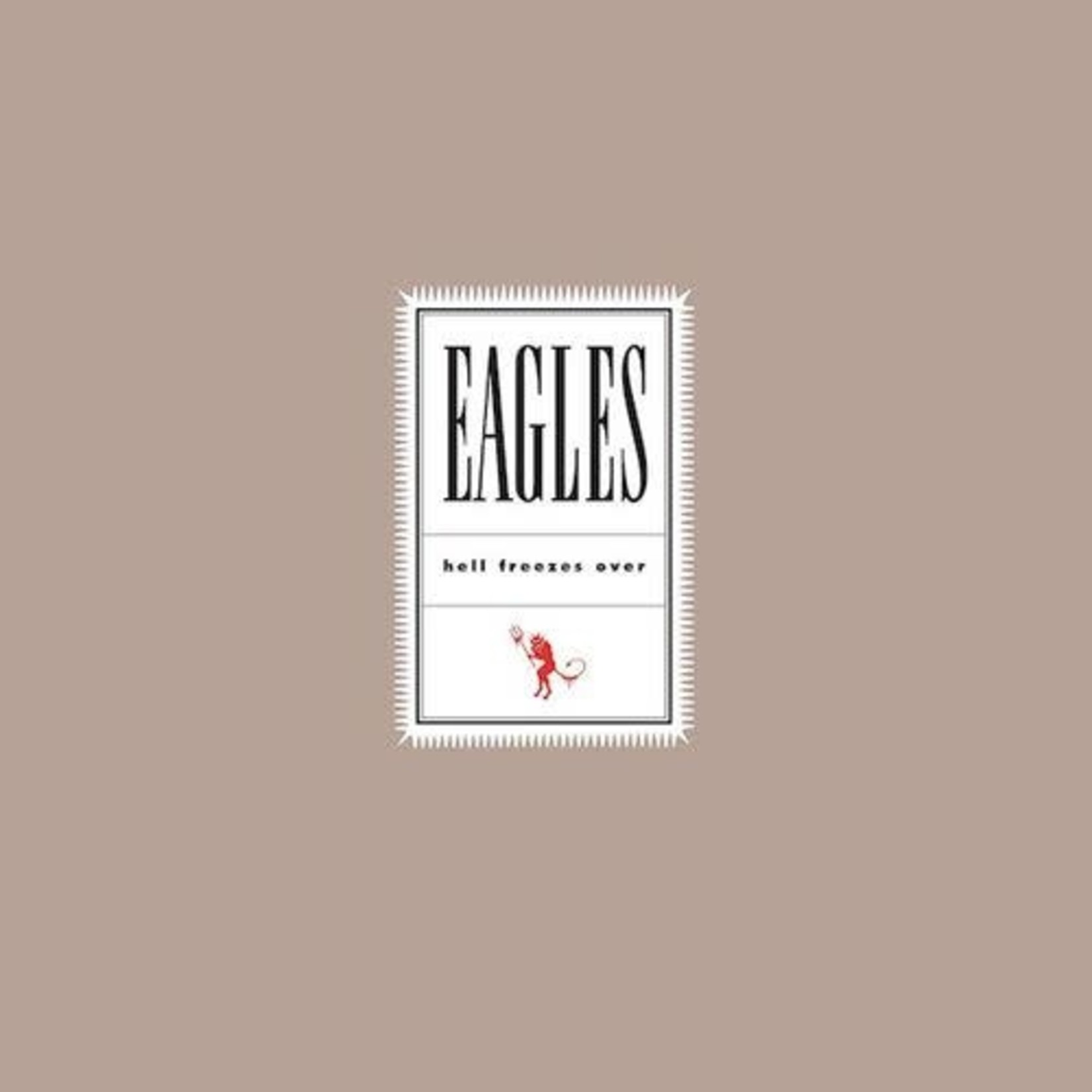 THE EAGLES HELL FREEZES OVER (2LP)