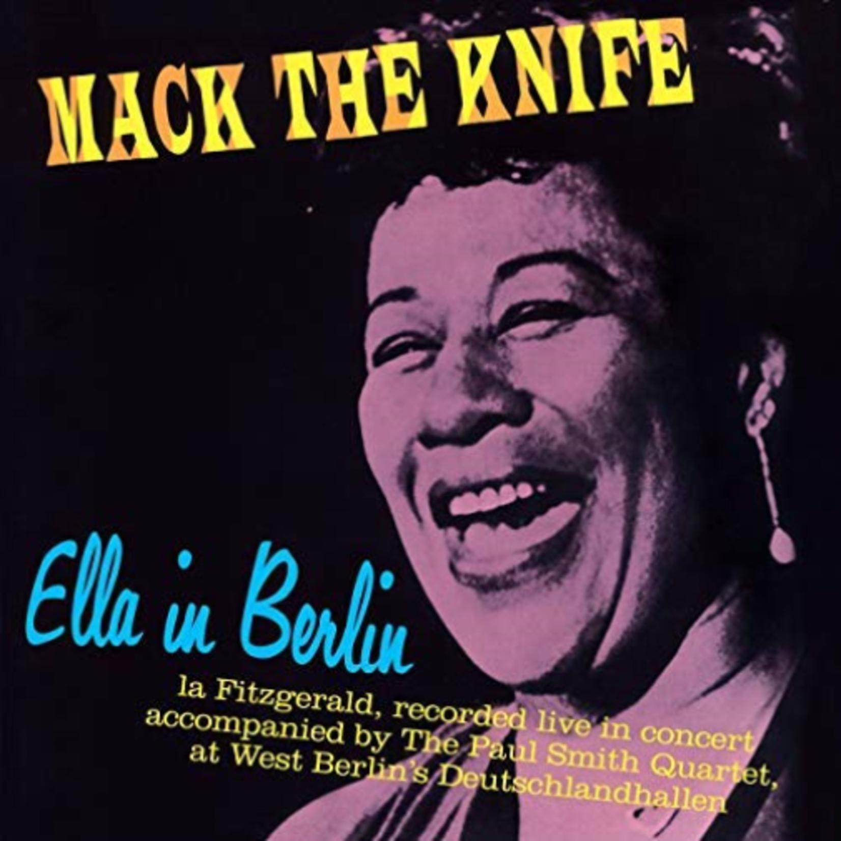 ELLA FITZGERALD ELLA IN BERLIN (MACK THE KNIFE) + 4 BONUS TRACKS!