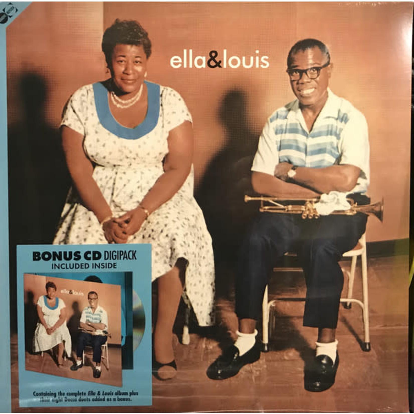 ELLA FITZGERALD ELLA & LOUIS + BONUS CD DIGIPACK
