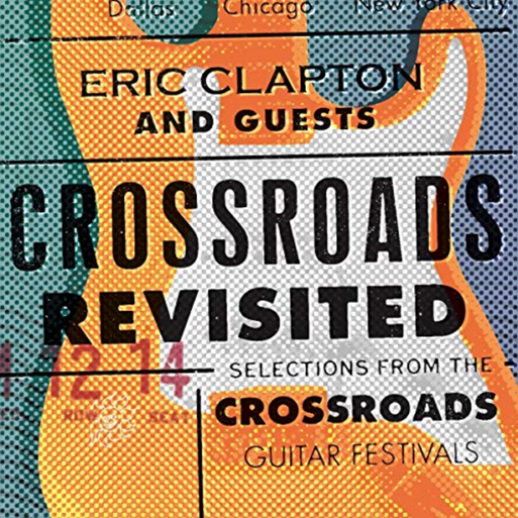 ERIC CLAPTON CROSSROADS REVISITED: SELECTIONS FROM THE GUITAR FESTIVALS (6 LP)