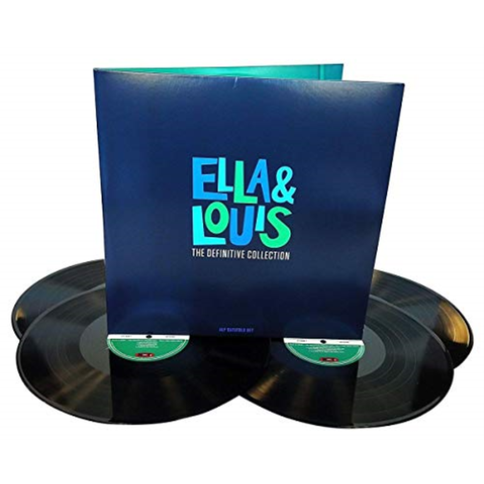 ELLA FITZGERALD ELLA & LOUIS - THE DEFINITIVE COLLECTION (4LP)