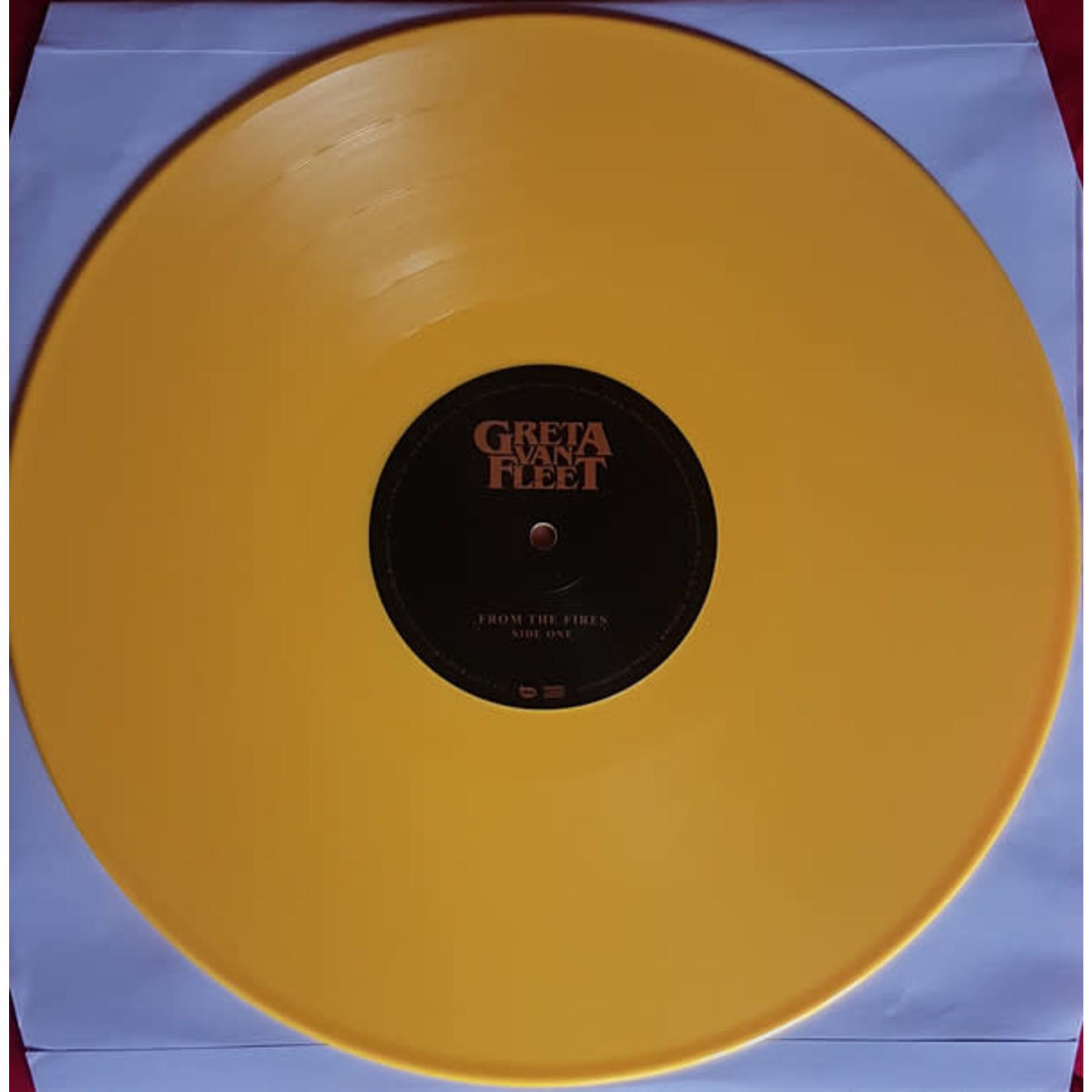 GRETA VAN FLEET FROM THE FIRES YELLOW (LP)