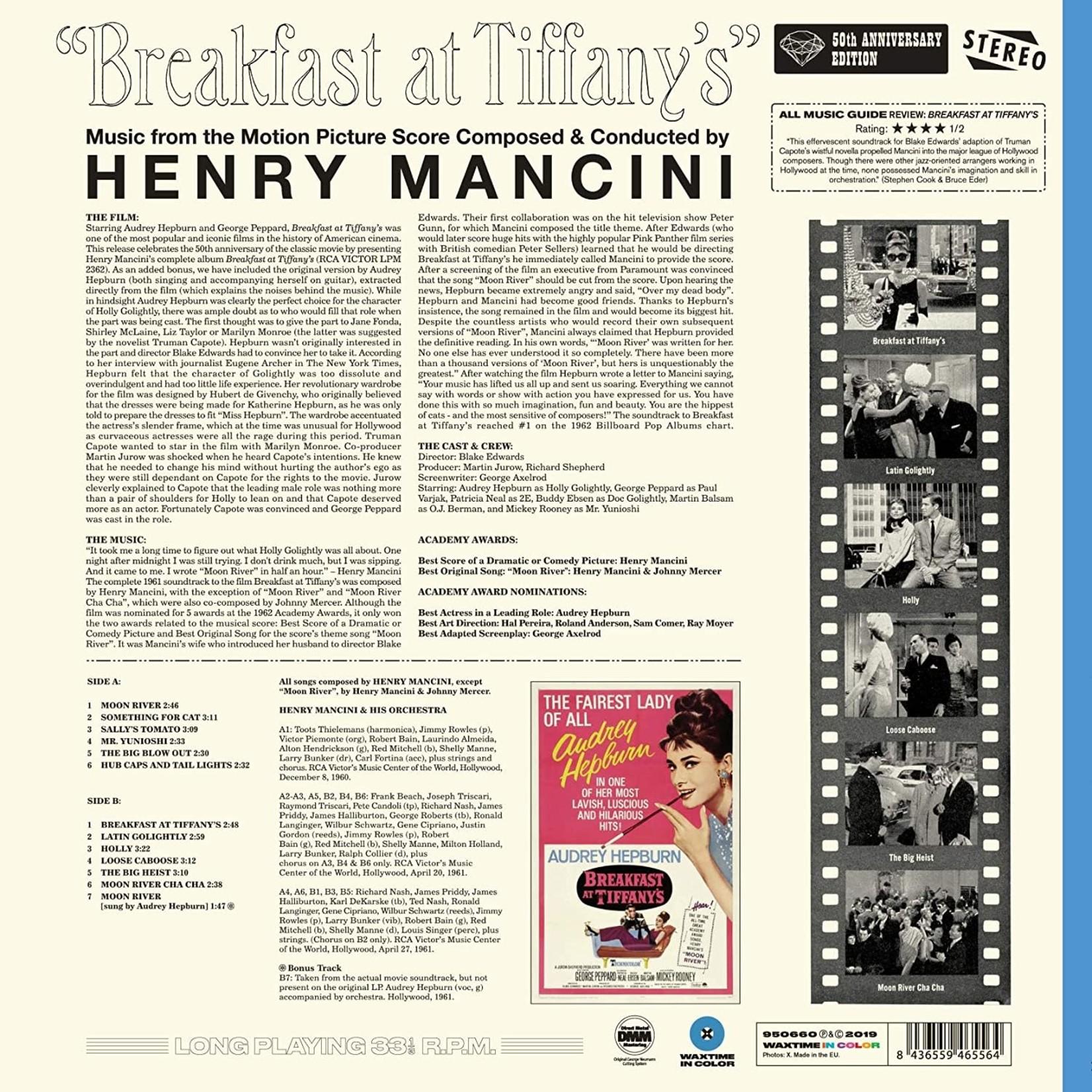 HENRY MANCINI BREAKFAST AT TIFFANY'S OST +1 BONUS TRACK!