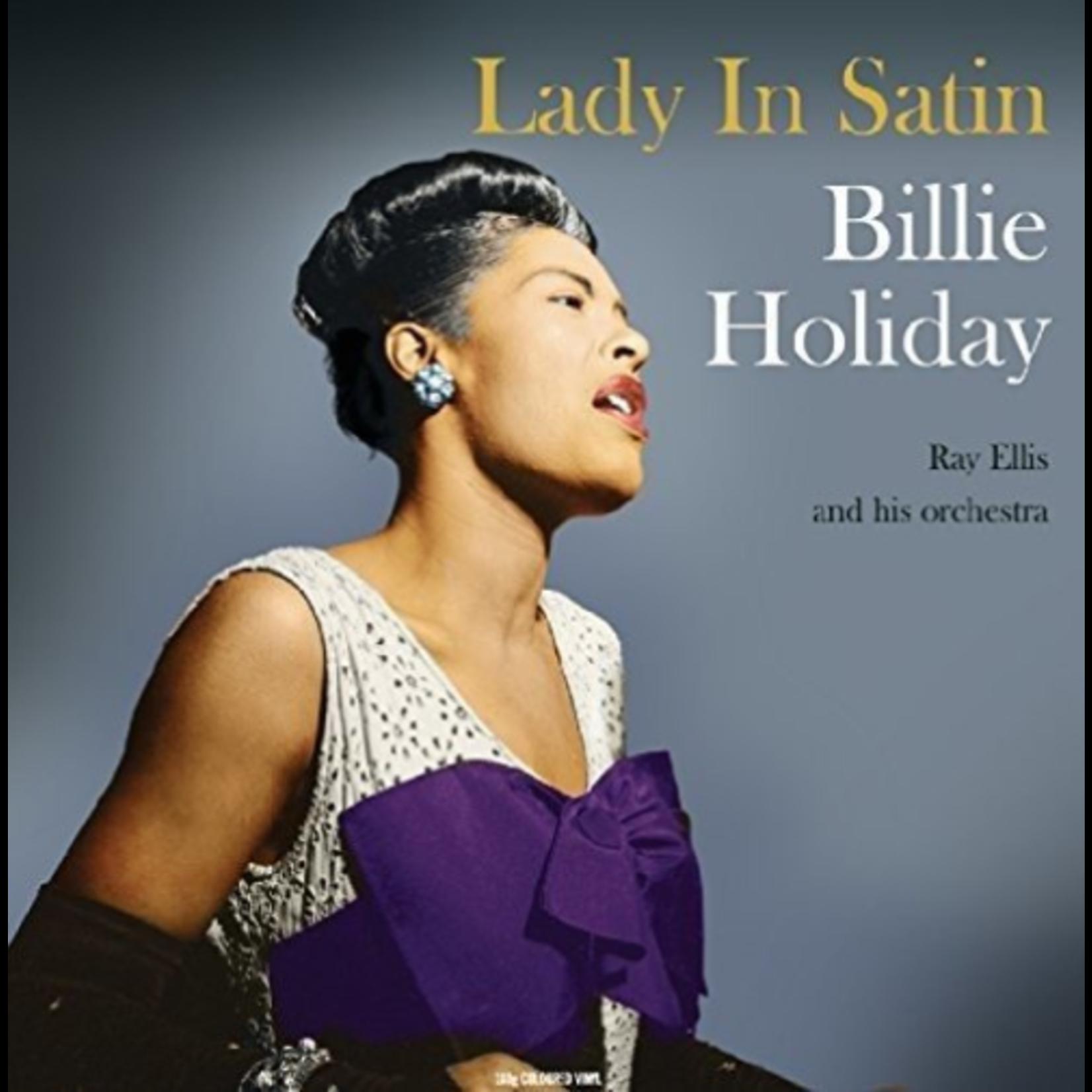 BILLIE HOLIDAY LADY IN SATIN (180G HQ VINYL TRANSPARENT VINYL)