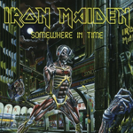 IRON MAIDEN SOMEWHERE IN TIME (RE-ISSUE)