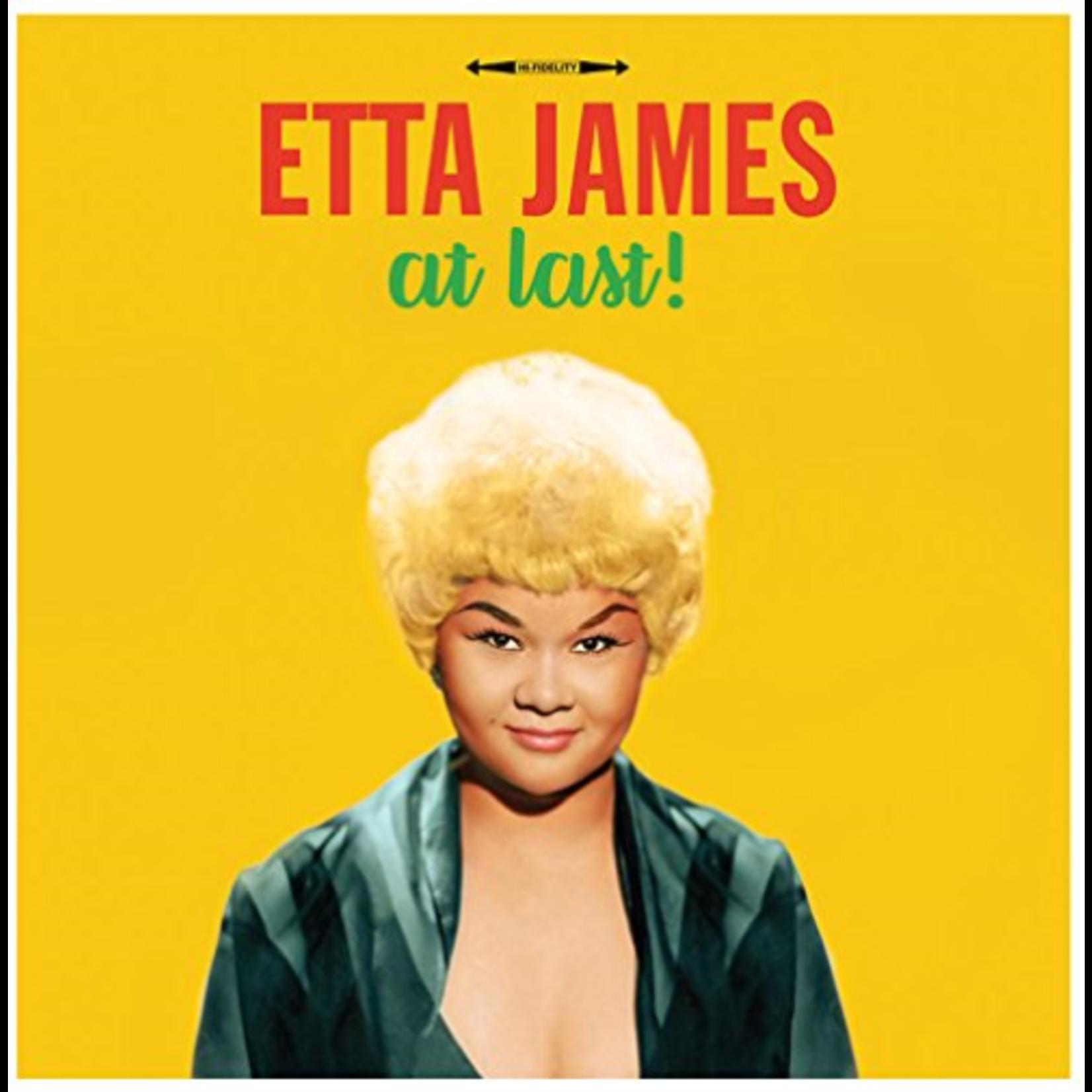 ETTA JAMES AT LAST! (180G HQ YELLOW VINYL)