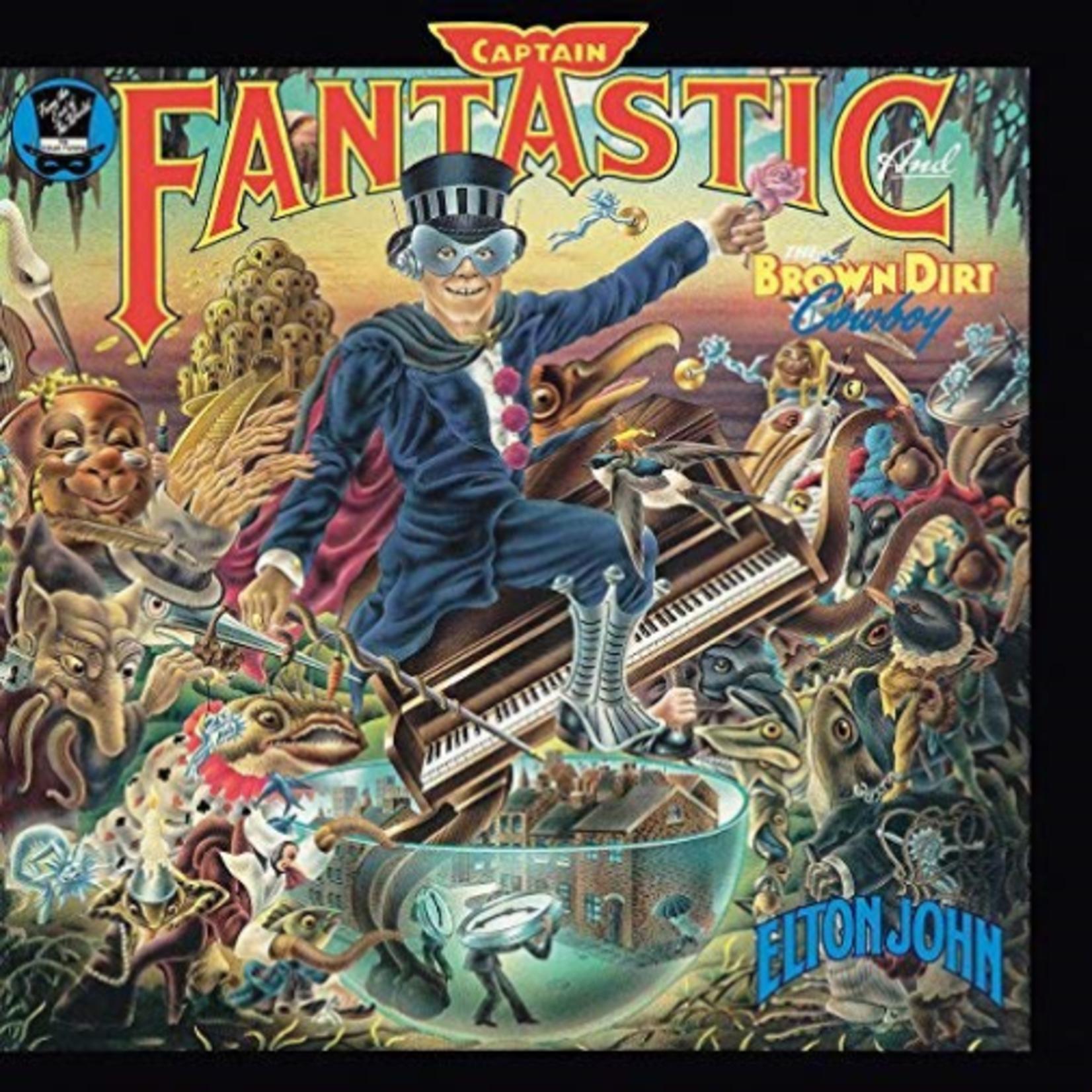 ELTON JOHN CAPTAIN FANTASTIC AND THE BROWN DIRT COWBOY (LP)