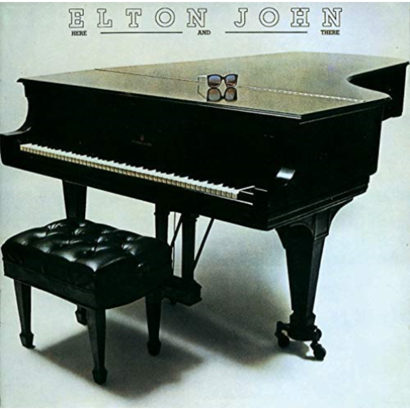 ELTON JOHN HERE AND THERE (LP)