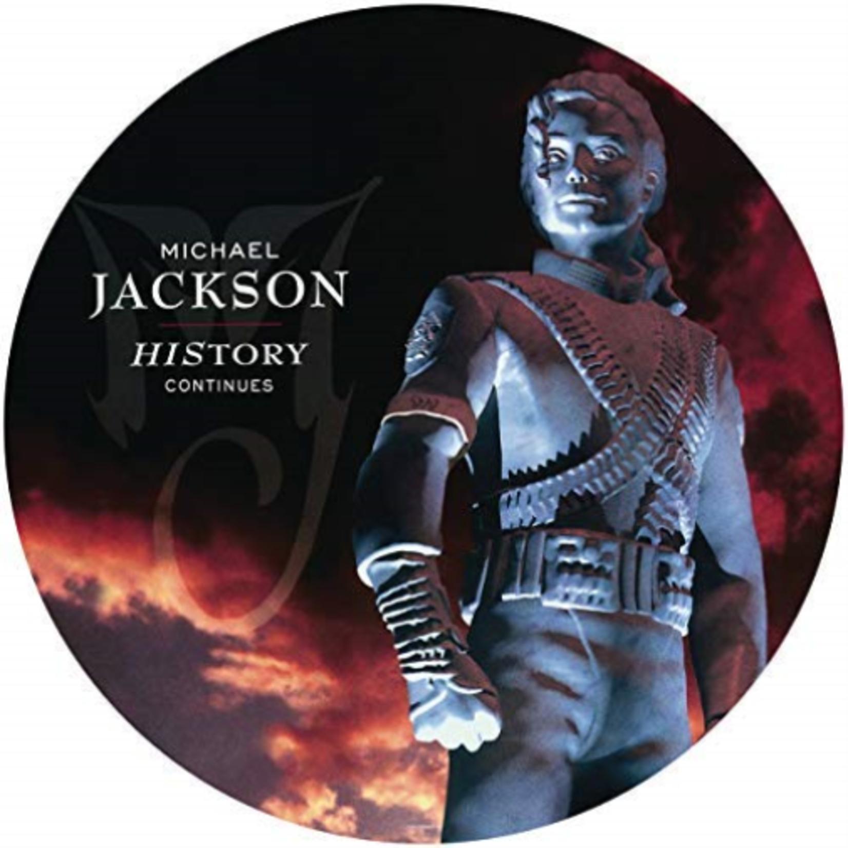 MICHAEL JACKSON HISTORY: CONTINUES (PICTURE VINYL)