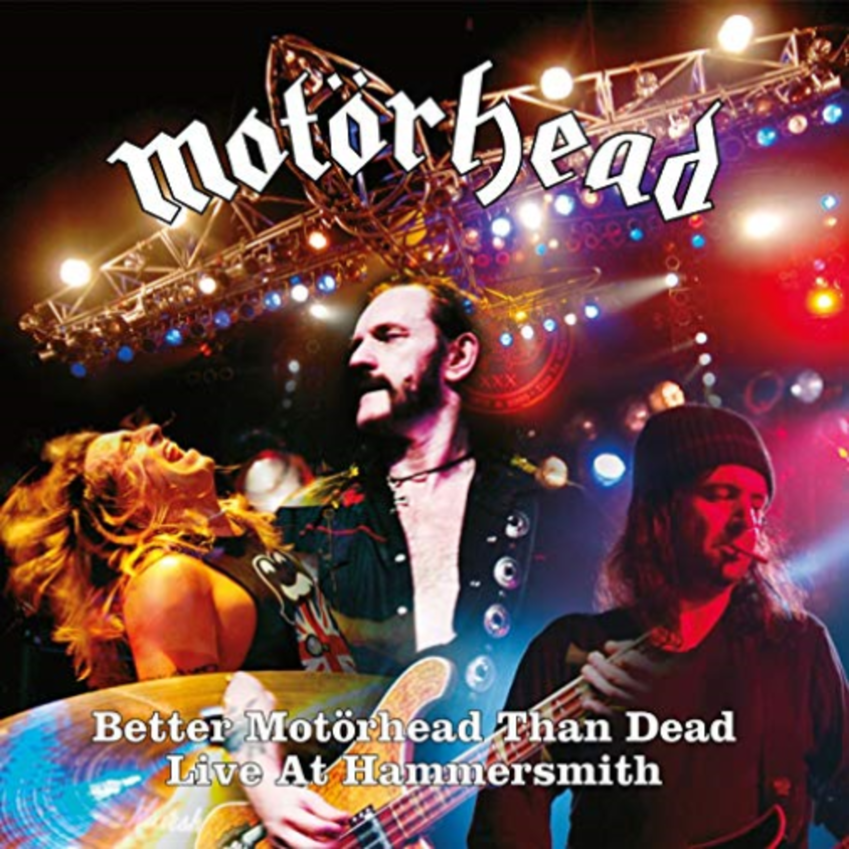 MOTORHEAD BETTER MOTORHEAD THAN DEAD (LIVE AT HAMMERSMITH) (LP)
