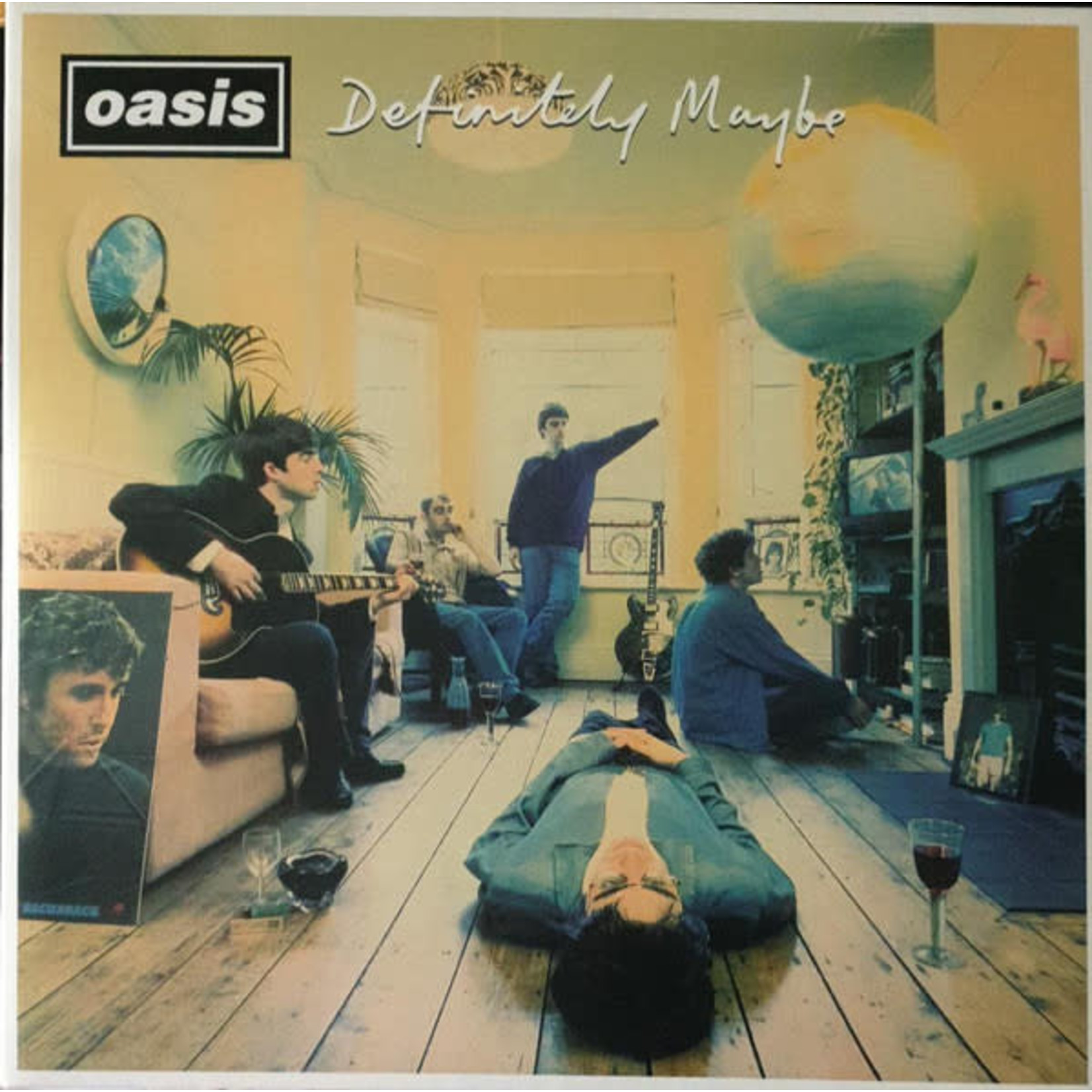 OASIS DEFINITELY MAYBE 25TH (2LP)