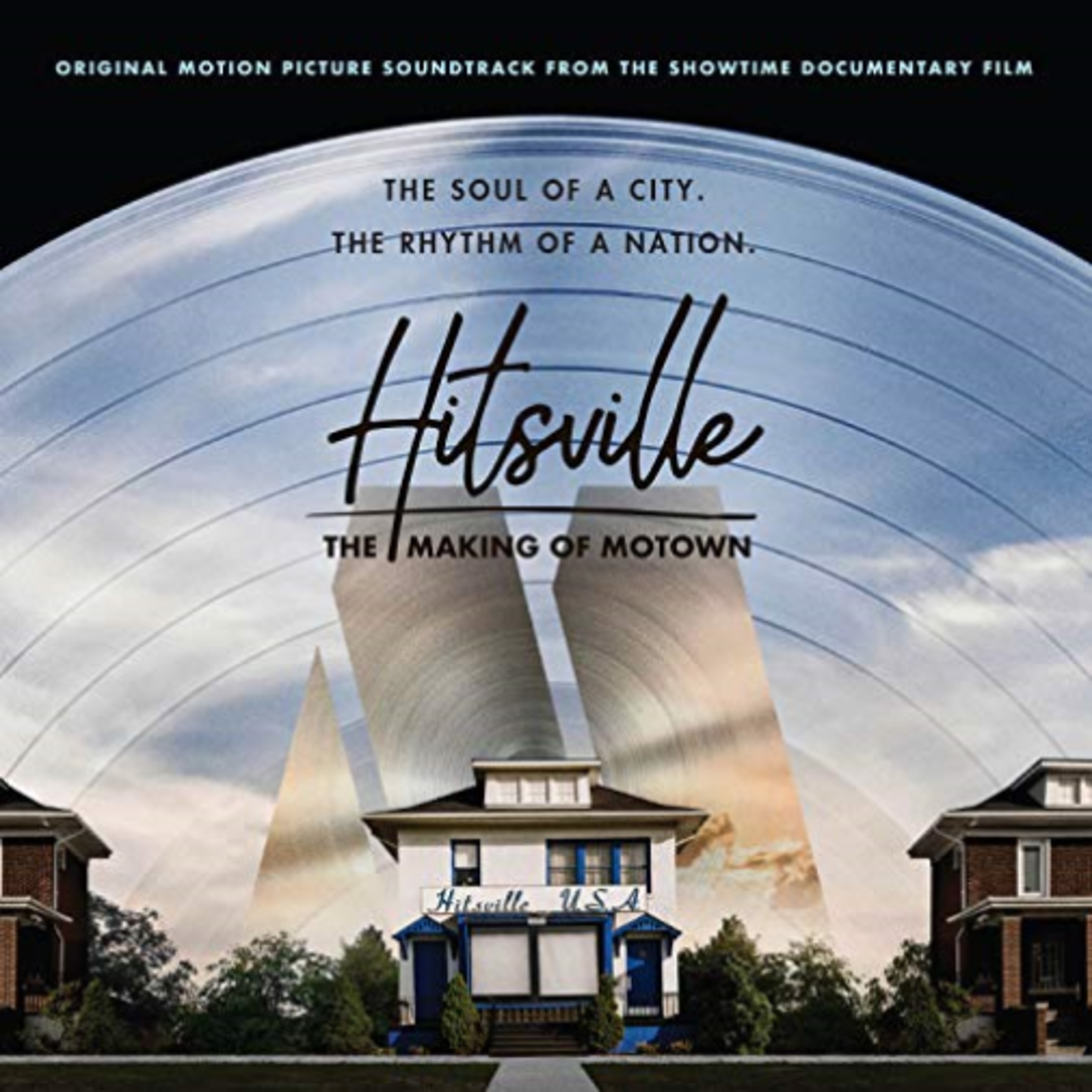 VARIOUS ARTISTS HITSVILLE: THE MAKING OF MOTOWN (LP)