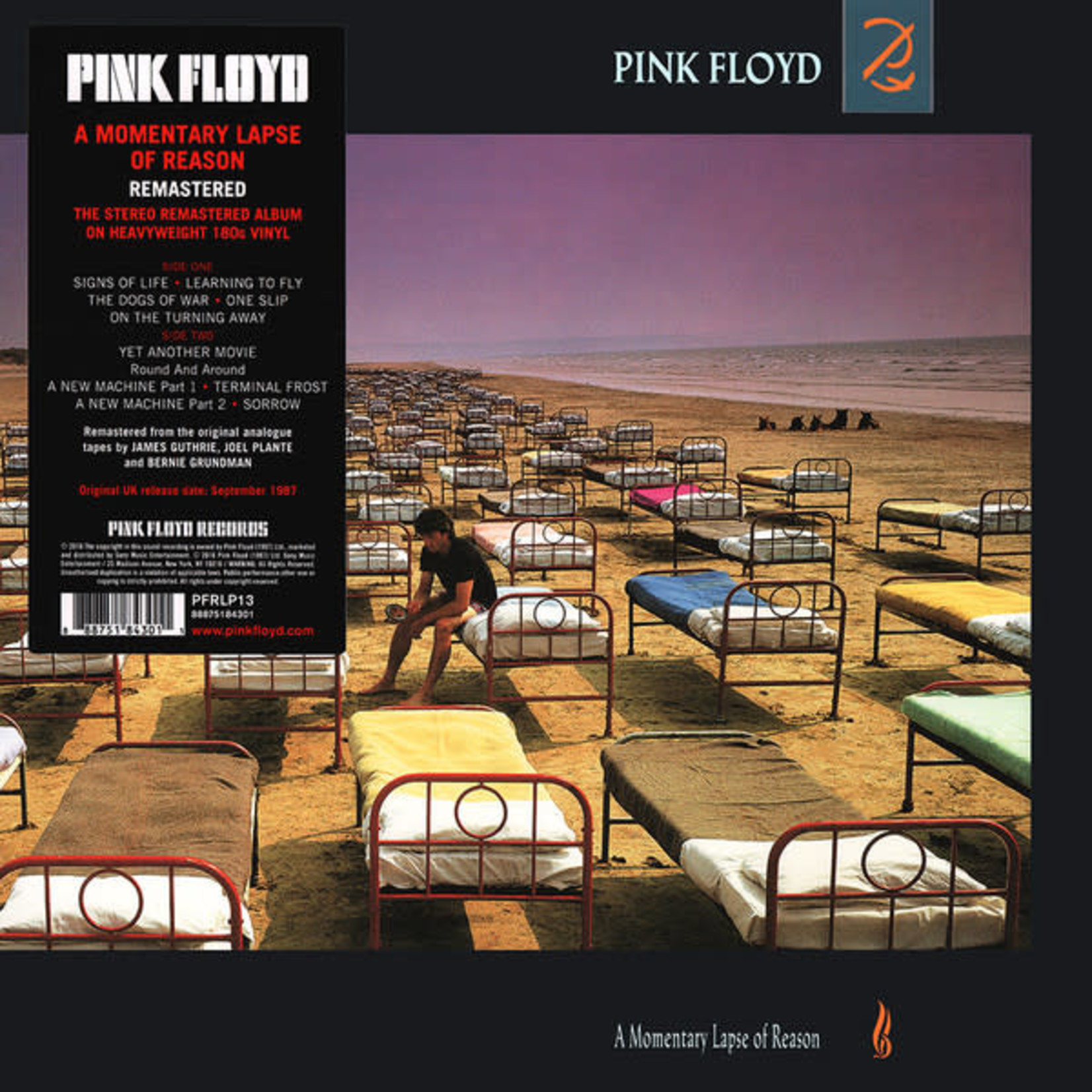 PINK FLOYD A MOMENTARY LAPSE OF REASON (STEREO REMASTERED)