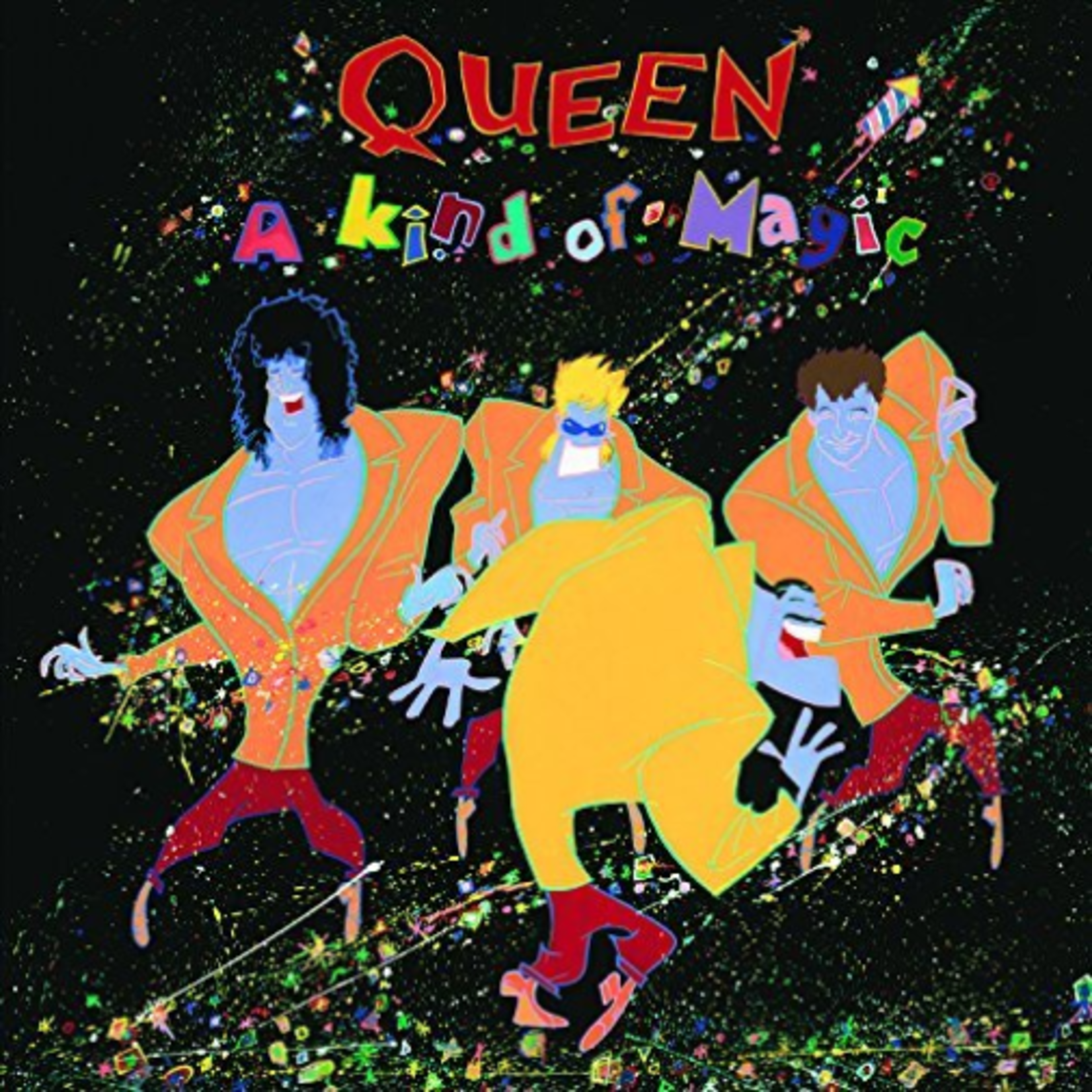 QUEEN A KIND OF MAGIC  HALF SPEED MASTERED LP