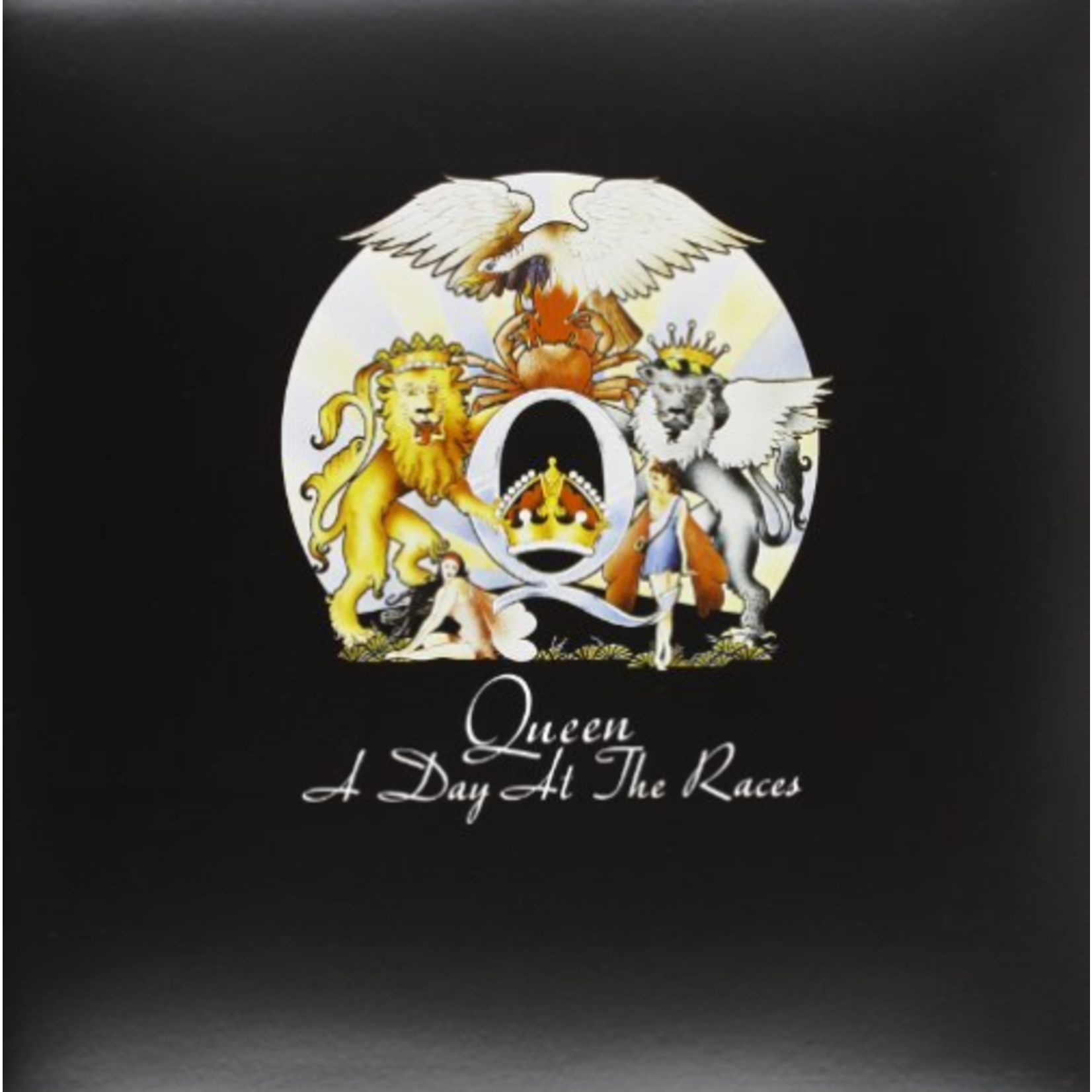 QUEEN A DAY AT THE RACES (LP)