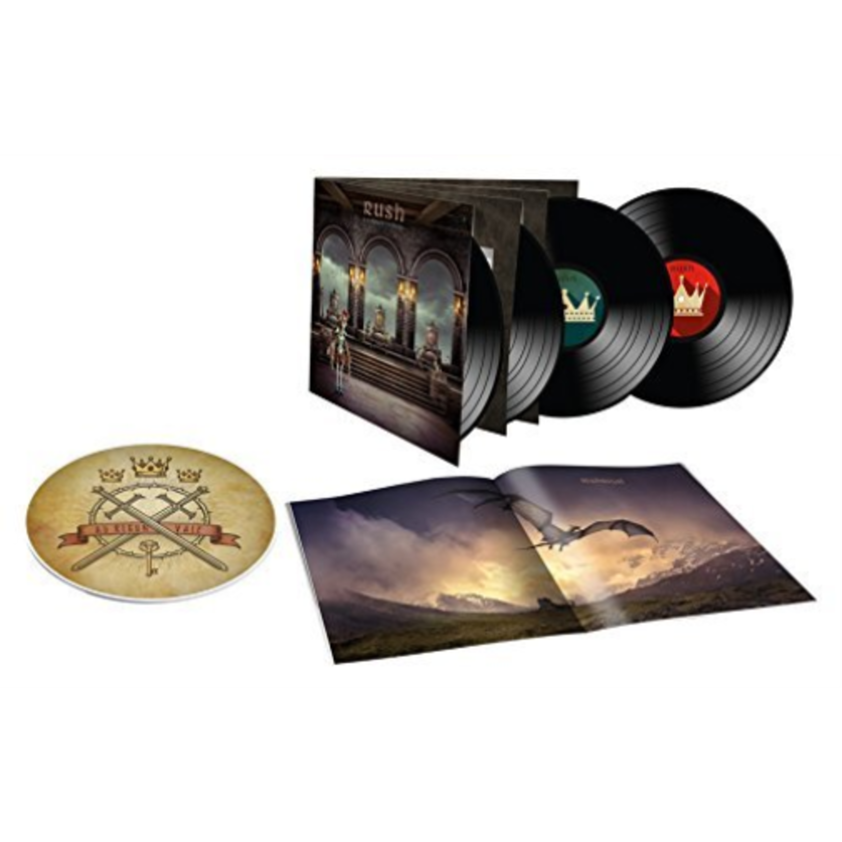RUSH A FAREWELL TO KINGS  40TH ANNIVERSARY DELUXE EDITION 180g