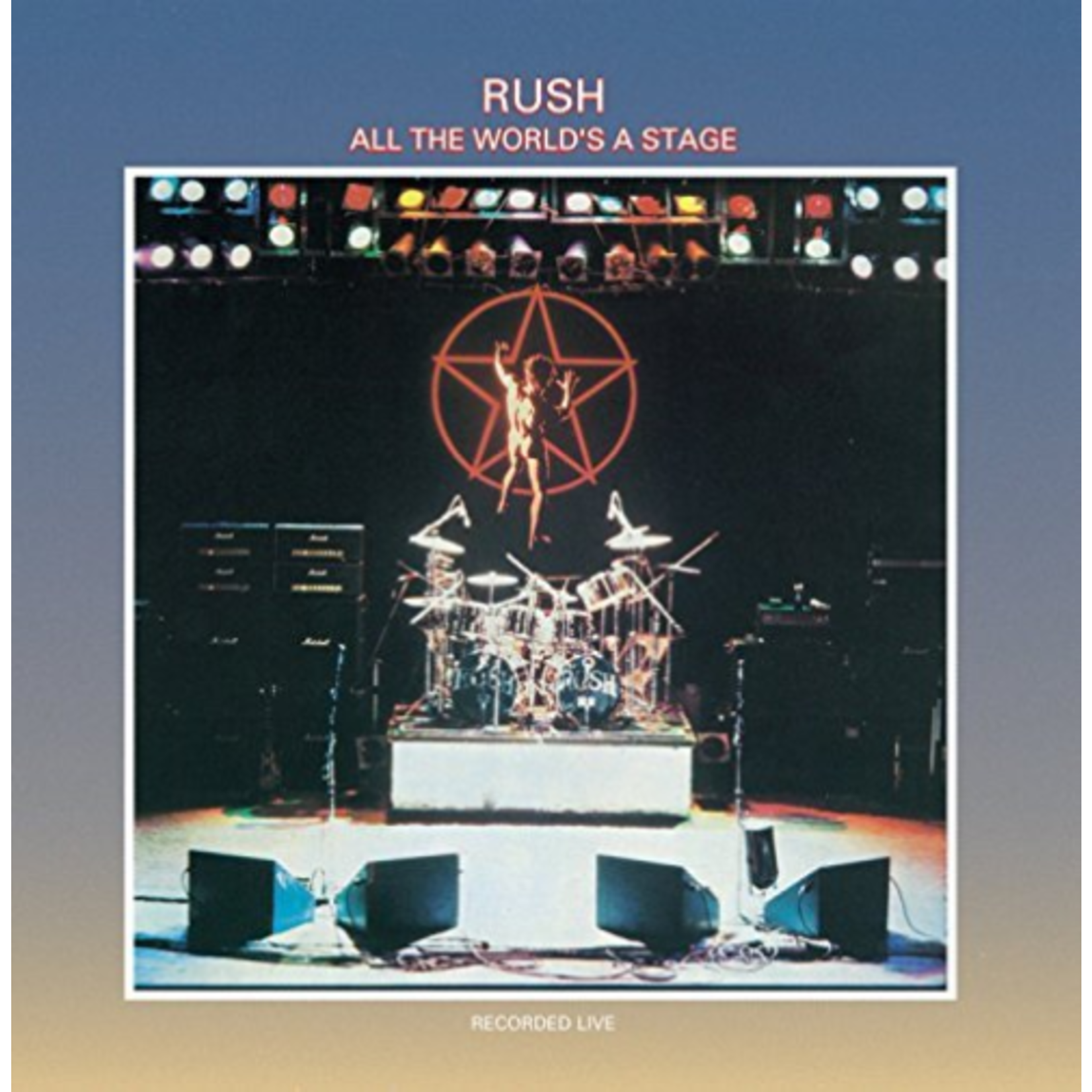 RUSH ALL THE WORLD'S A STAGE 2LP