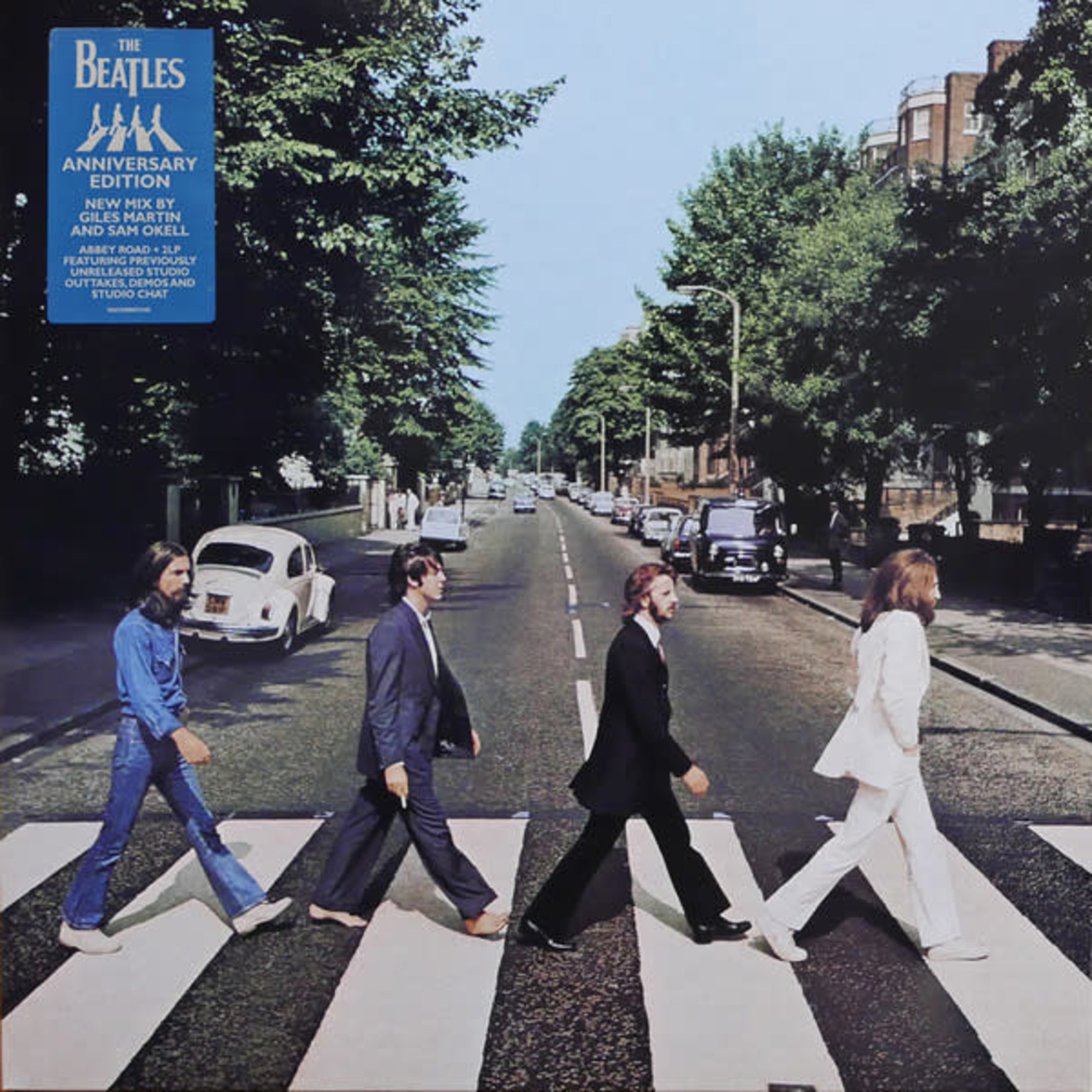 THE BEATLES ABBEY ROAD ANNIVERSARY SUPER DELUXE EDITION 3LP SET