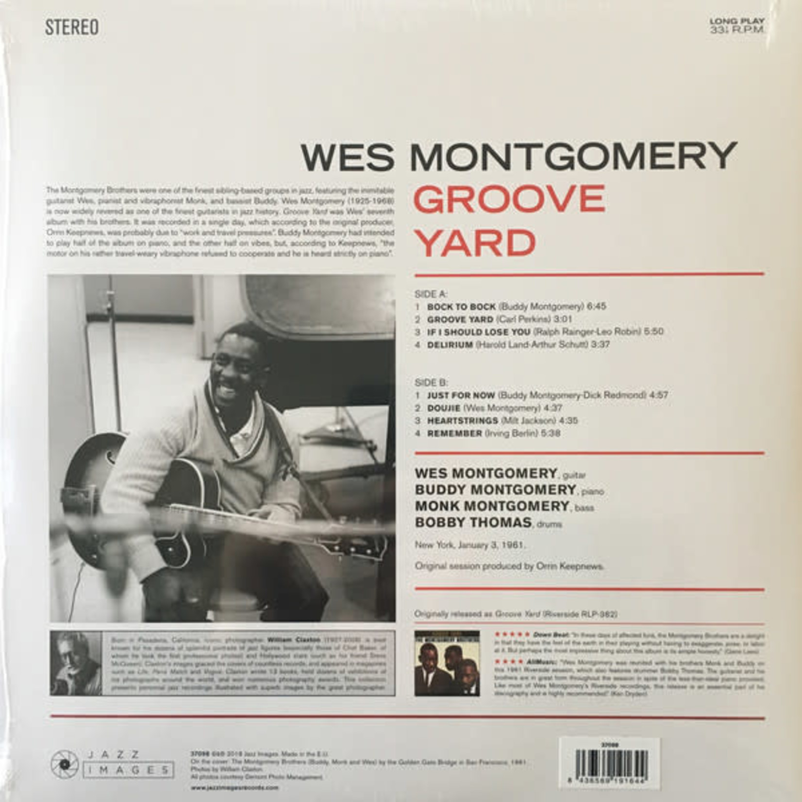 WES MONTGOMERY GROOVE YARD