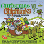 ALVIN, SIMON AND THEODORE CHRISTMAS WITH THE CHIPMUNKS VOL. 2 (WHITE VINYL)