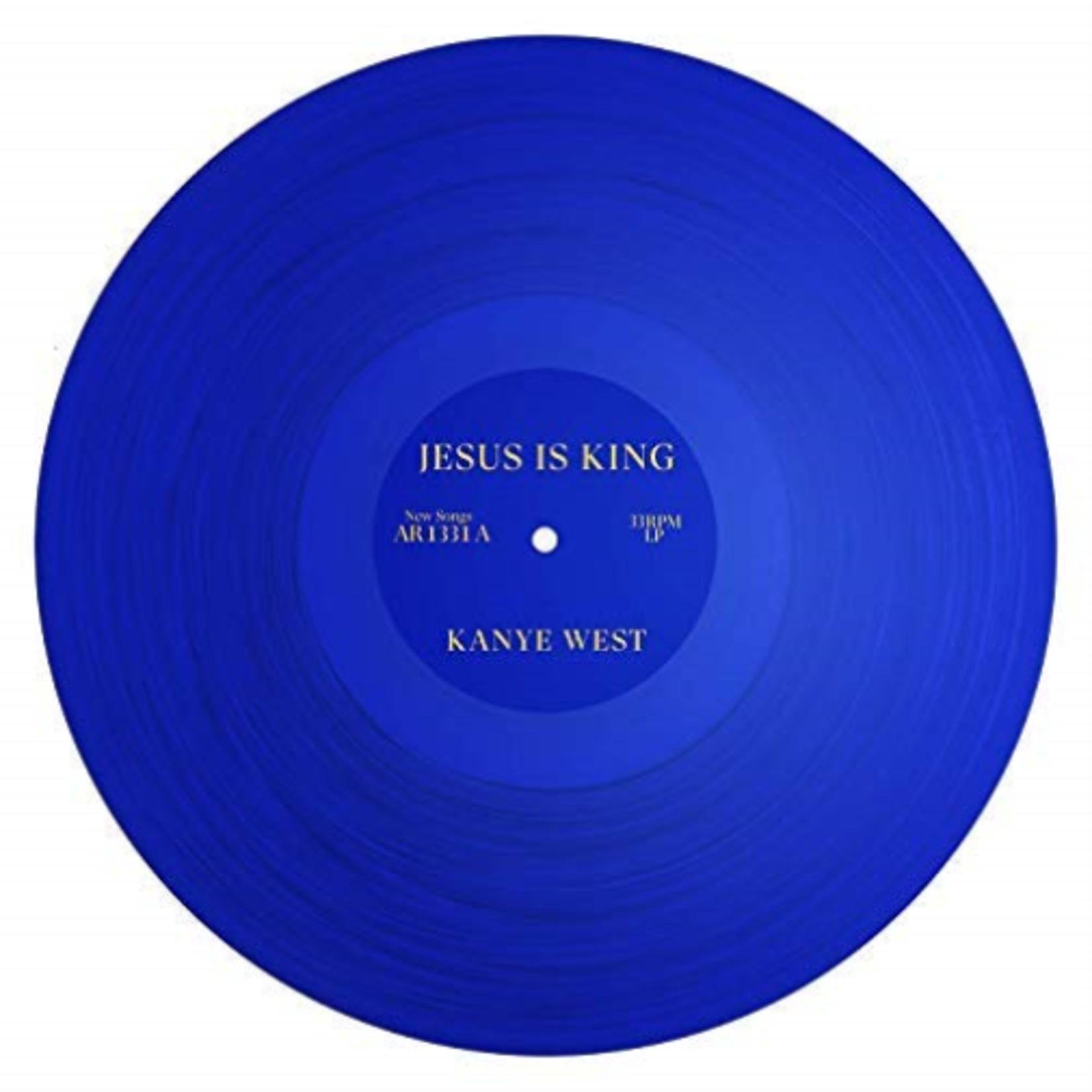 KANYE WEST JESUS IS KING (TRANSLUCENT BLUE VINYL)