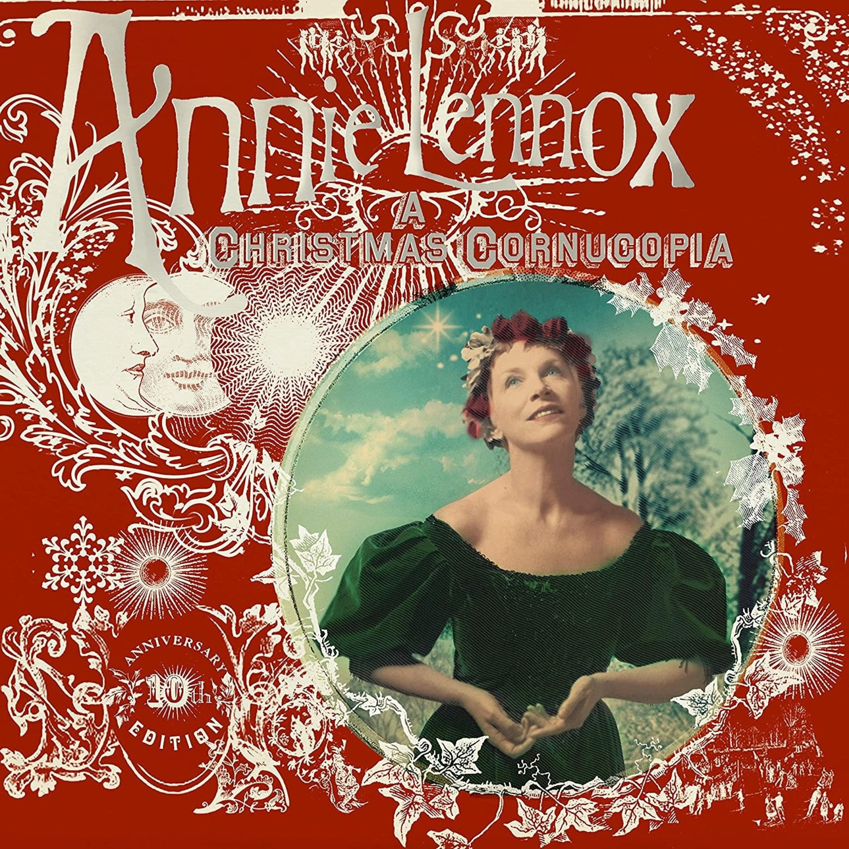 ANNIE LENNOX A CHRISTMAS CORNUCOPIA 10TH ANNIVERSARY LP