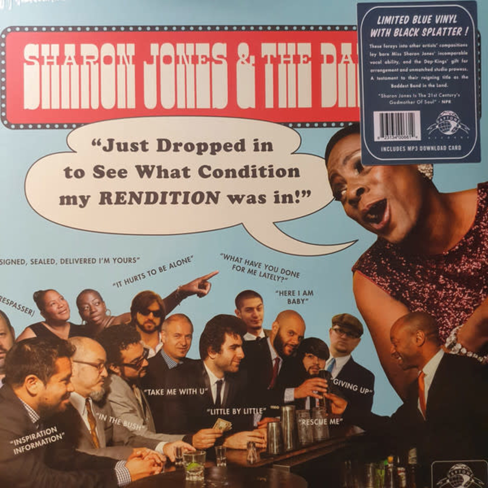 SHARON JONES BF 2020 - JUST DROPPED IN (TO SEE WHAT CONDITION MY RENDITION WAS IN)
