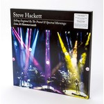 STEVE HACKETT SELLING ENGLAND BY THE POUND & SPECTRAL MORNINGS: LIVE AT HAMMERSMITH (LTD. BLACK 4LP+2CD BOX SET)