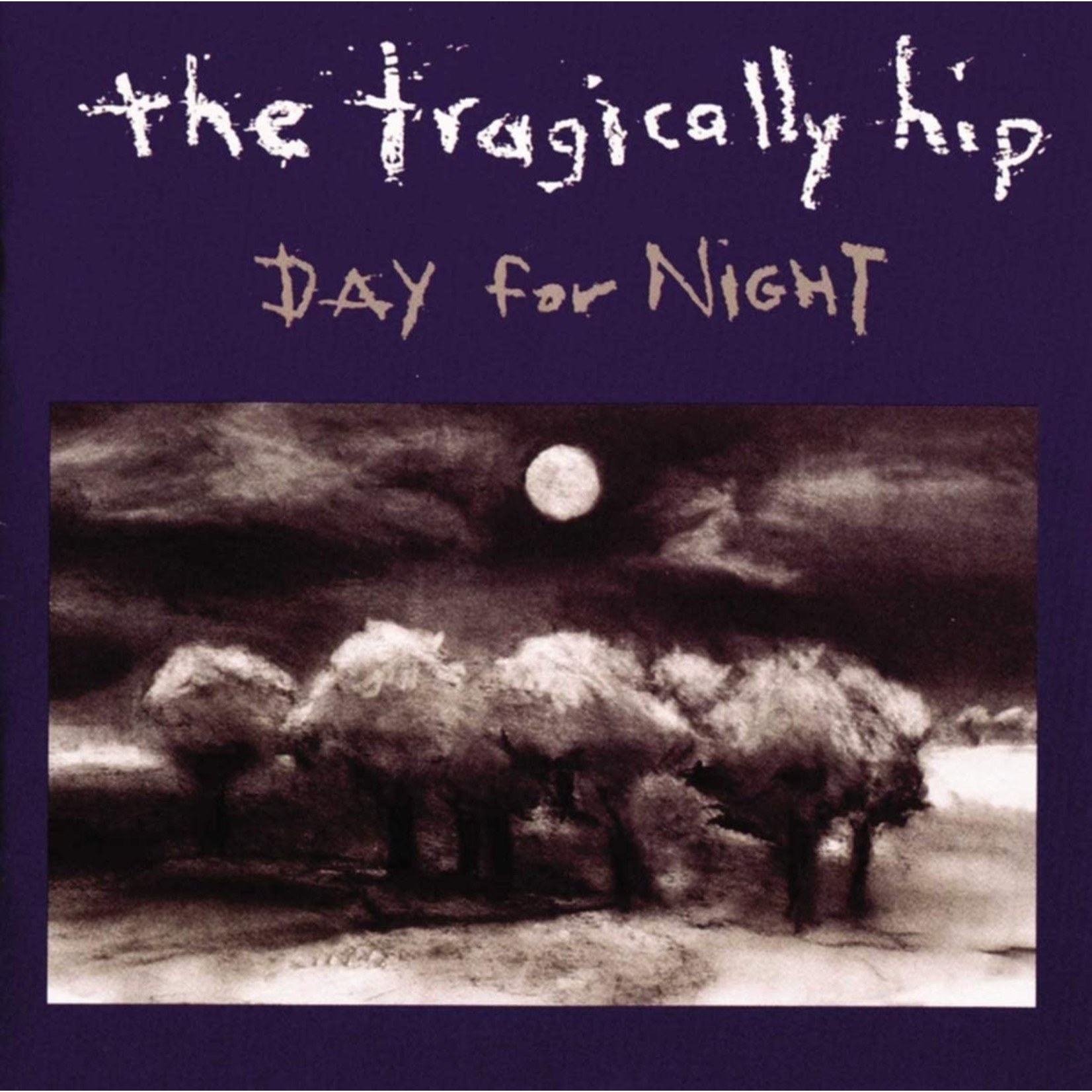 TRAGICALLY HIP DAY FOR NIGHT  25TH ANNIVERSARY SILVER VINYL (2LP)