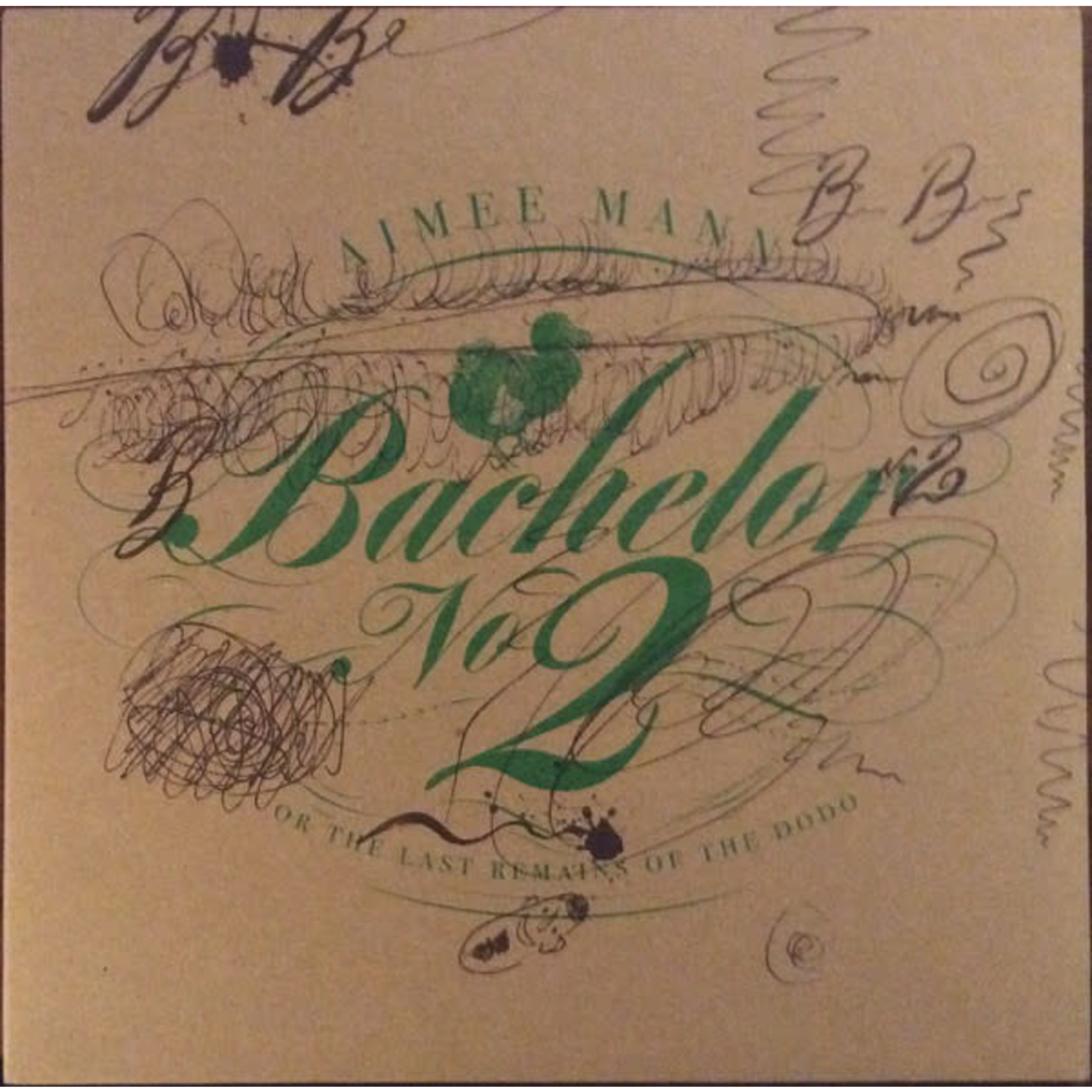 AIMEE MANN BF 2020 - BACHELOR NO. 2 (THE LAST REMAINS OF THE DODO)