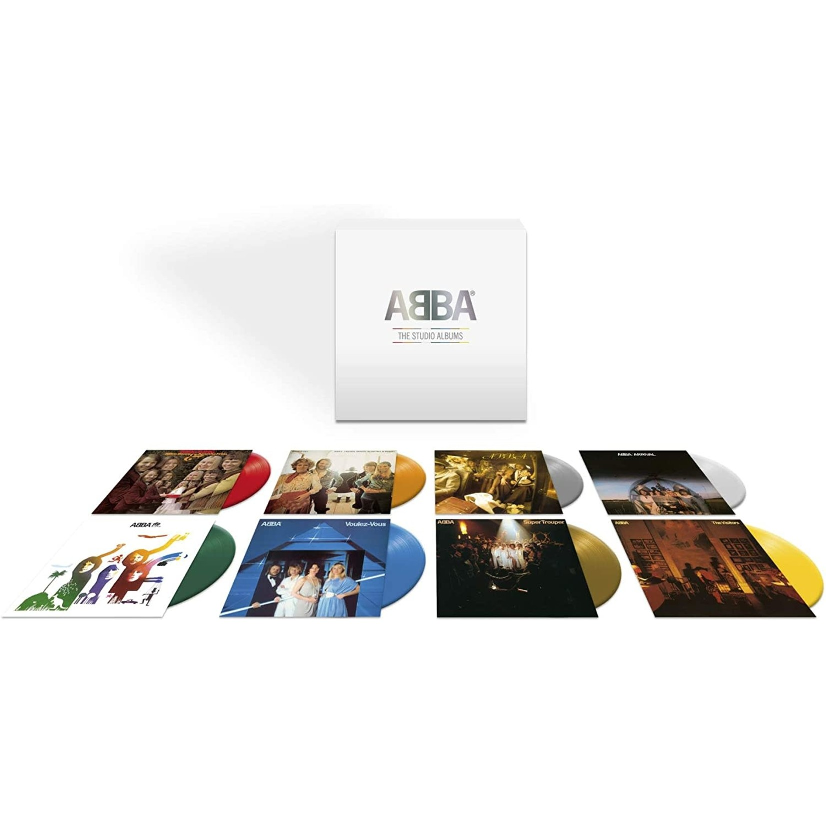 ABBA THE VINYL COLLECTION  COLOURED VINYL 8 LP SET