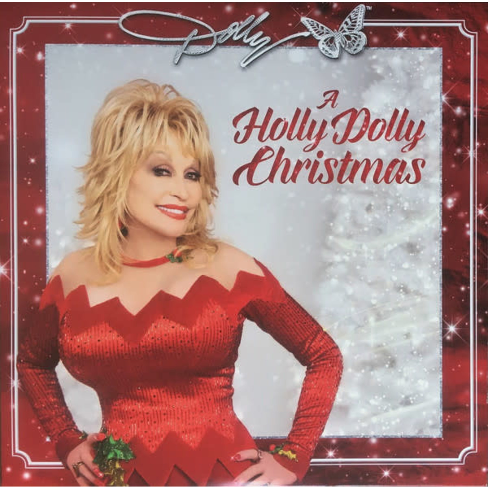 DOLLY PARTON A HOLLY DOLLY CHRISTMAS SPECIAL RED VINYL