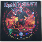 IRON MAIDEN NIGHTS OF THE DEAD, LEGACY OF THE BEAST: LIVE IN MEXICO CITY (3 LP)
