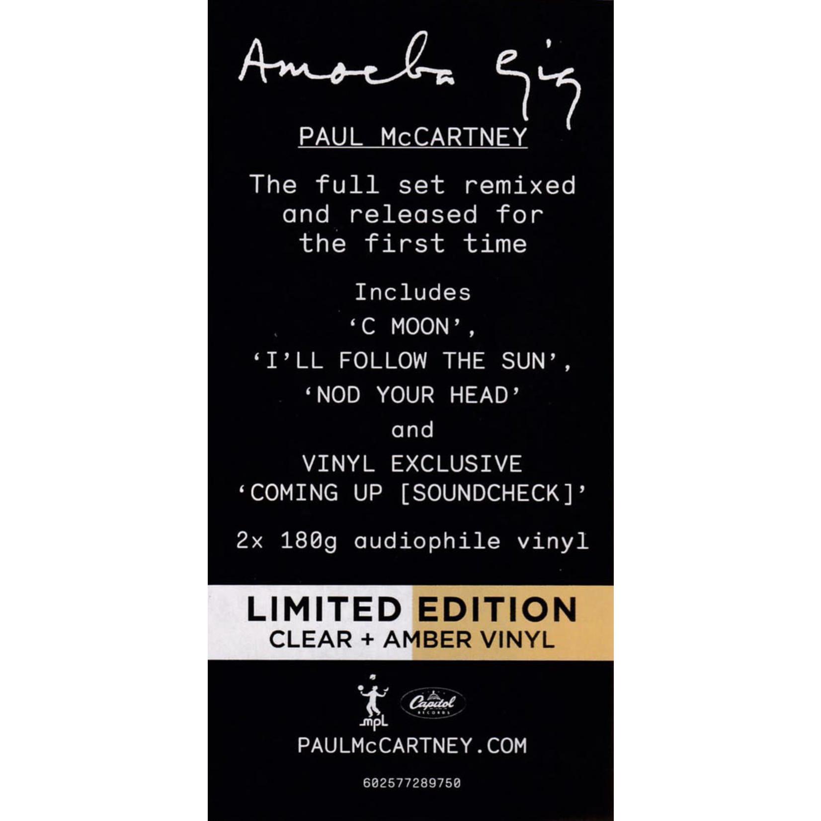 PAUL McCARTNEY AMOEBA GIG  2LP COLOR LTD EDITION