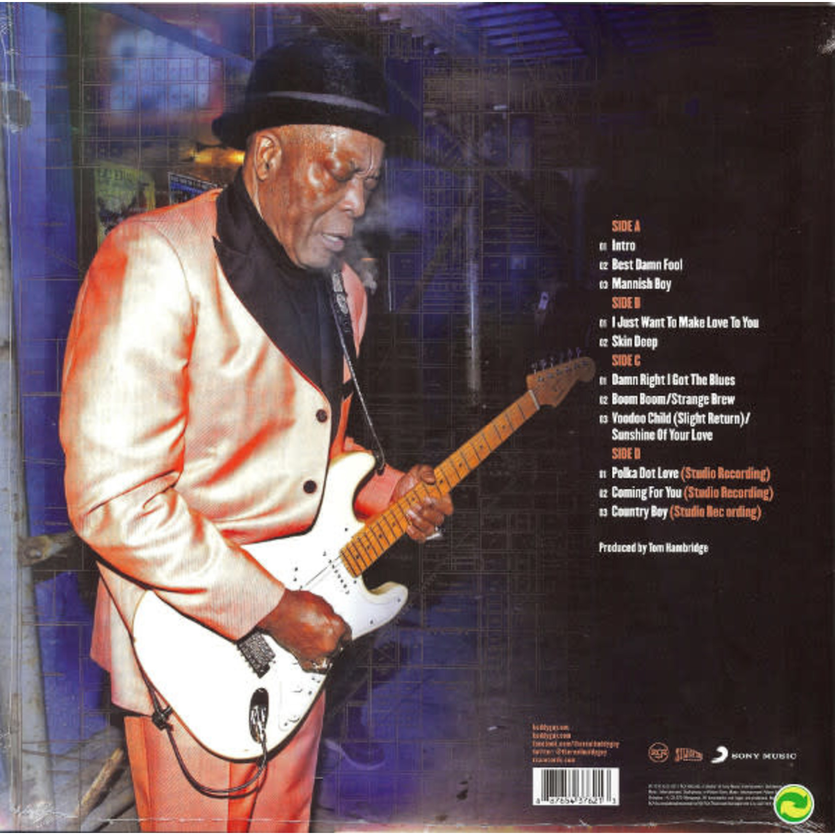 BUDDY GUY LIVE AT LEGENDS (LIMITED EDITION COLORED VINYL)