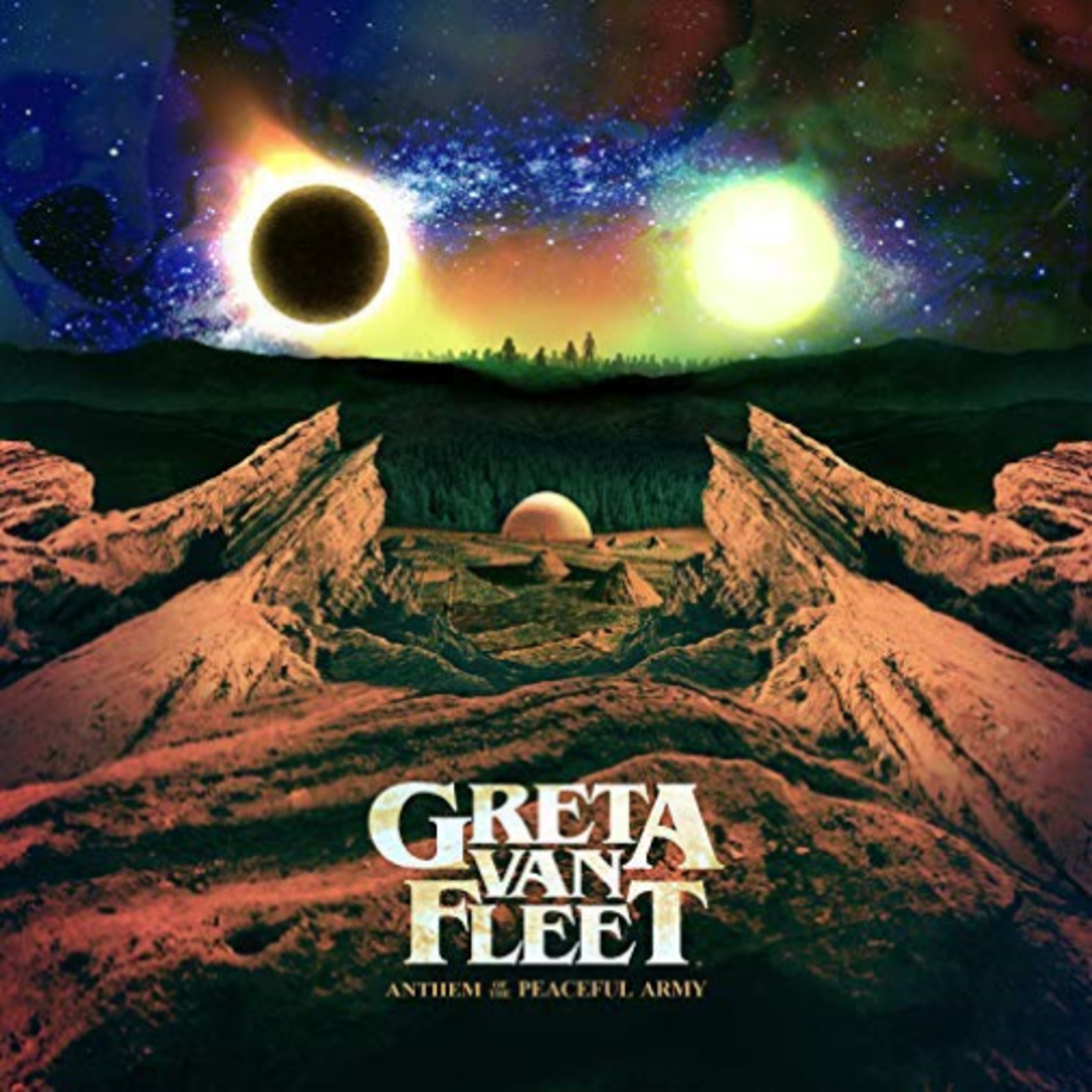 GRETA VAN FLEET ANTHEM OF THE PEACEFUL ARMY (LP)