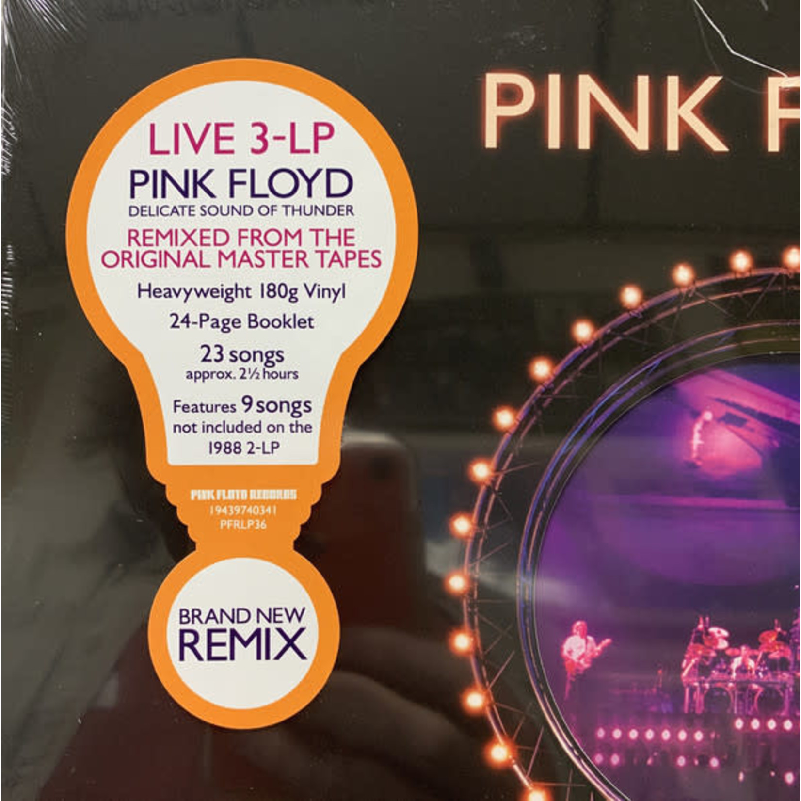 PINK FLOYD DELICATE SOUND OF THUNDER - RESTORED, RE-EDITED, REMIXED