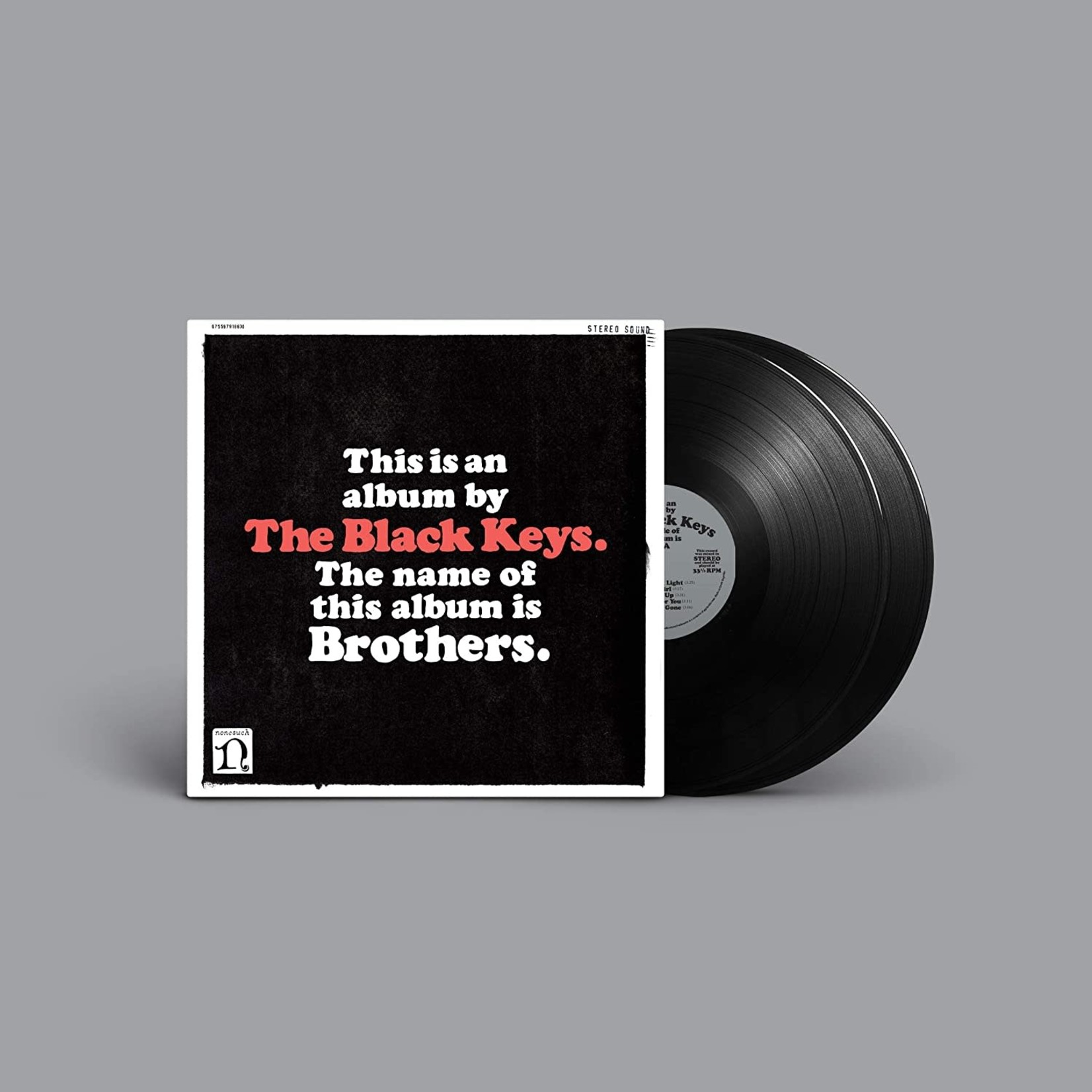 THE BLACK KEYS BROTHERS  DELUXE REMASTERED ANNIVERSARY EDITION  2LP