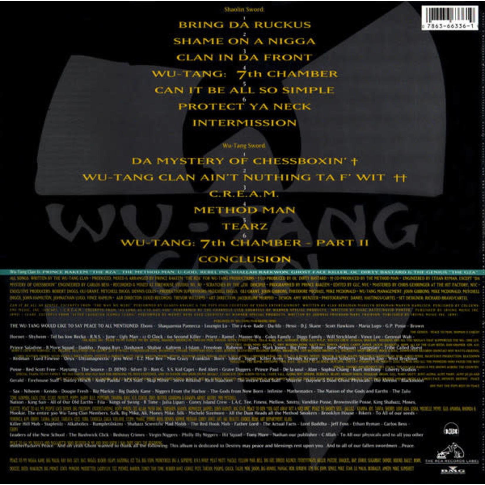 WU-TANG CLAN ENTER THE WU-TANG (36 CHAMBERS)