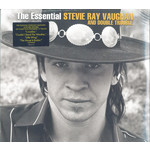 STEVIE RAY VAUGHAN THE ESSENTIAL STEVIE RAY VAUGHAN AND DOUBLE TROUBLE 2LP