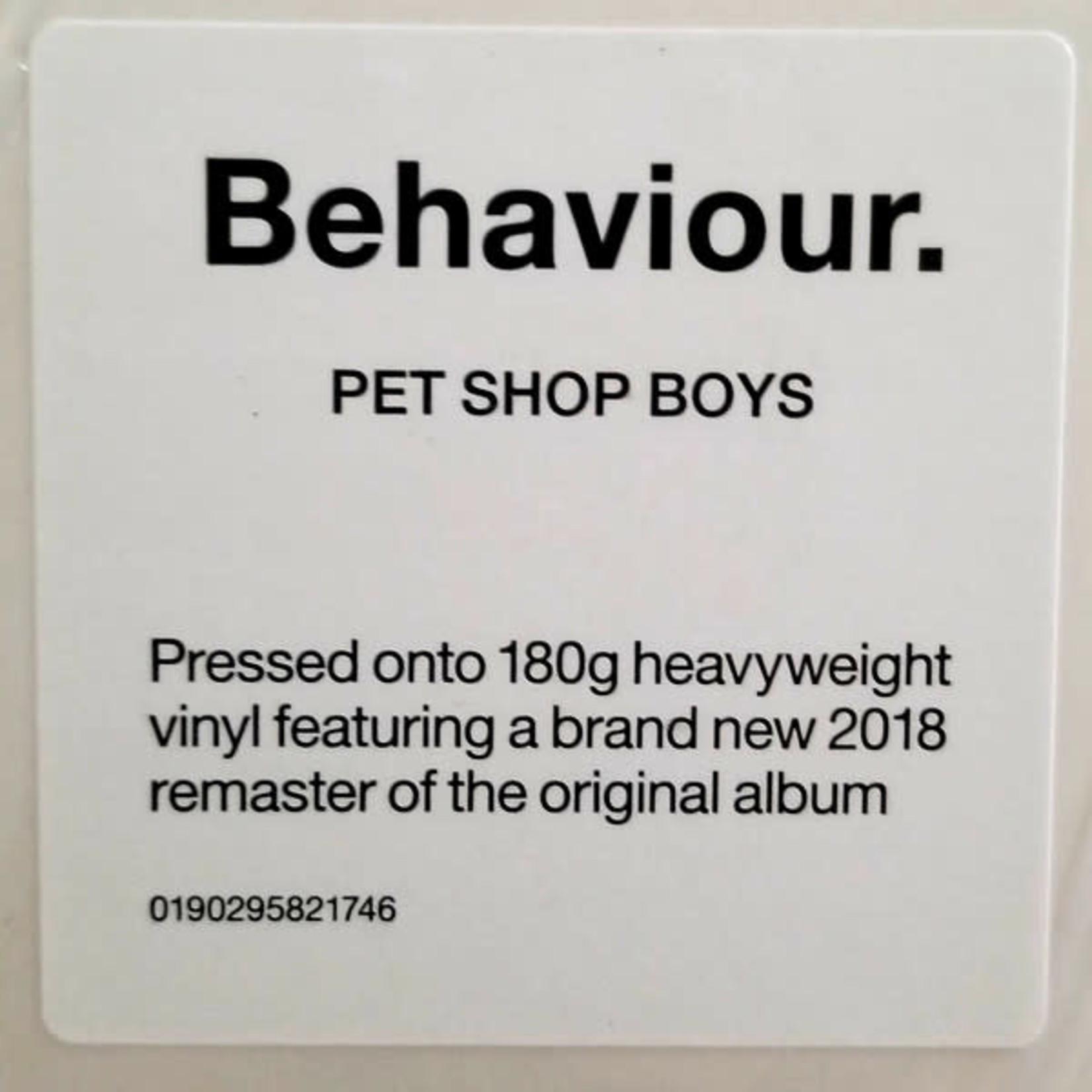 PET SHOP BOYS BEHAVIOUR (2018 REMASTER)