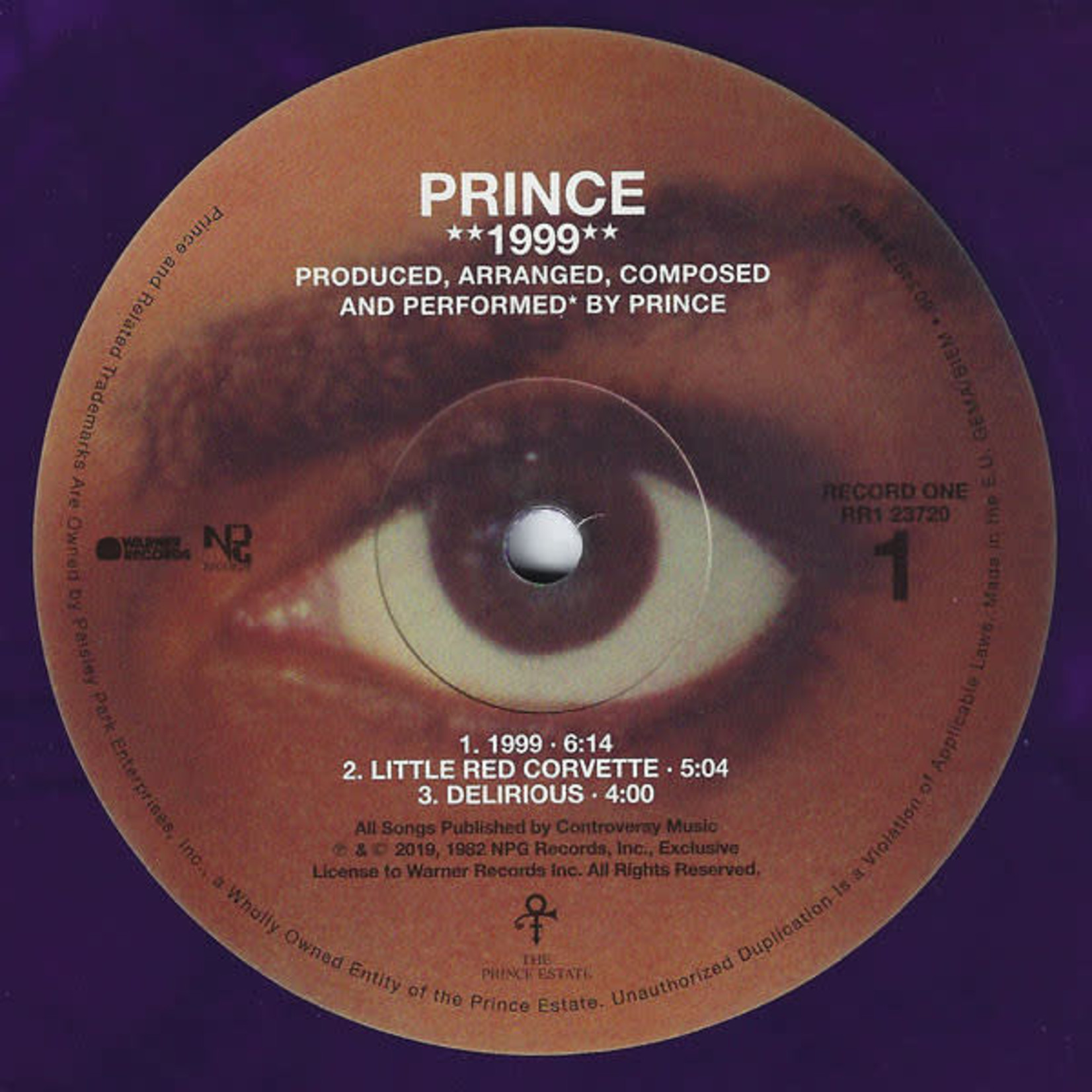 PRINCE 1999 (REMASTERED) 2LP
