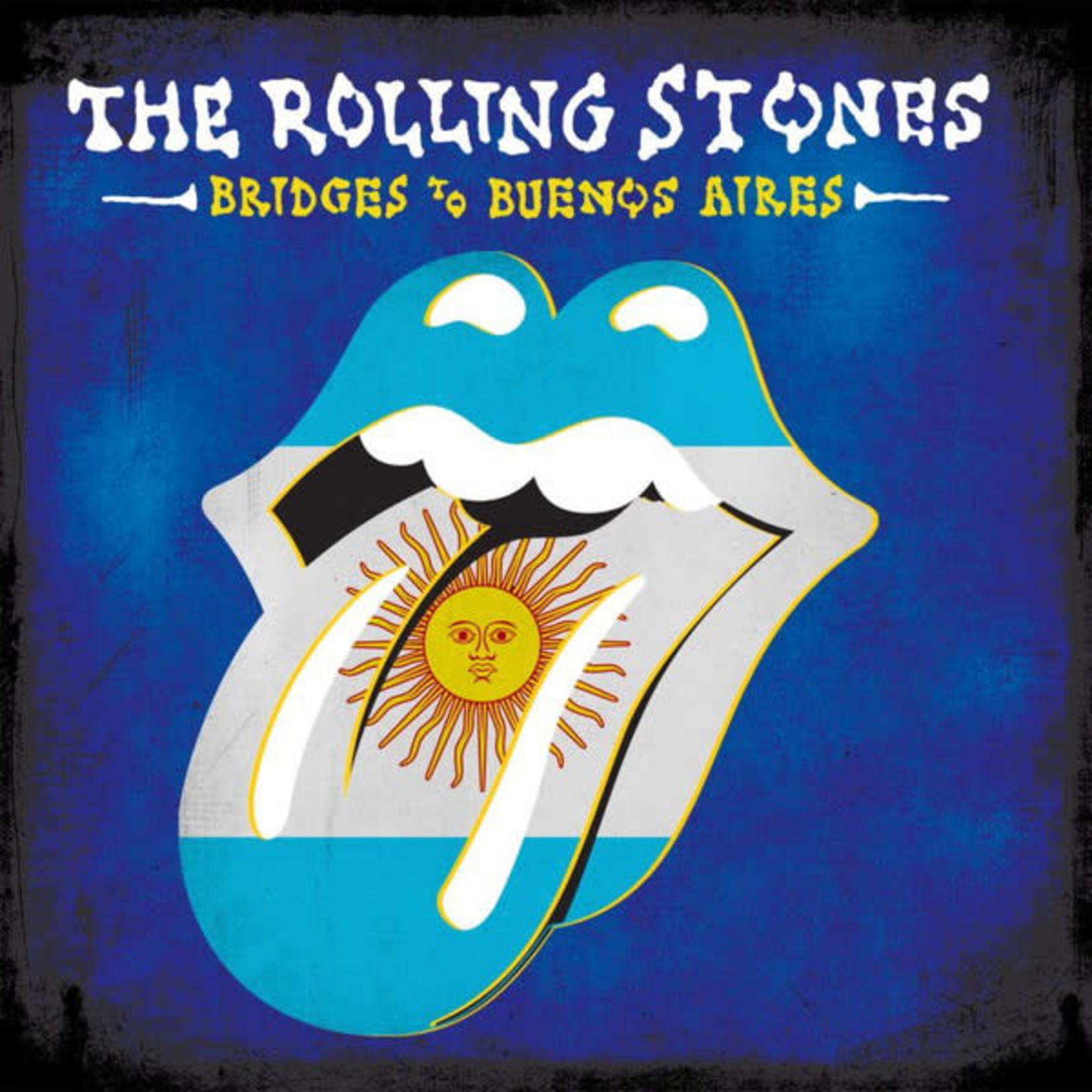 ROLLING STONES BRIDGES TO BUENOS AIRES  LIMITED EDITION BLUE 3LP