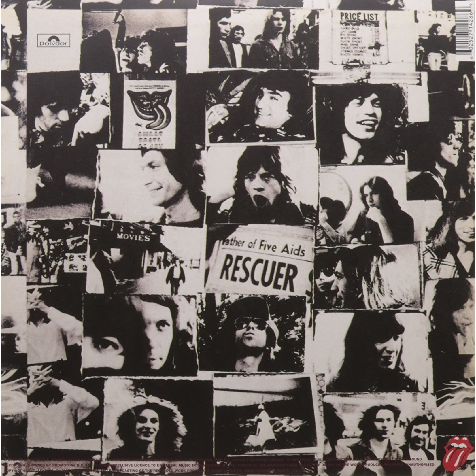 ROLLING STONES EXILE ON MAIN ST  2010 REMASTER