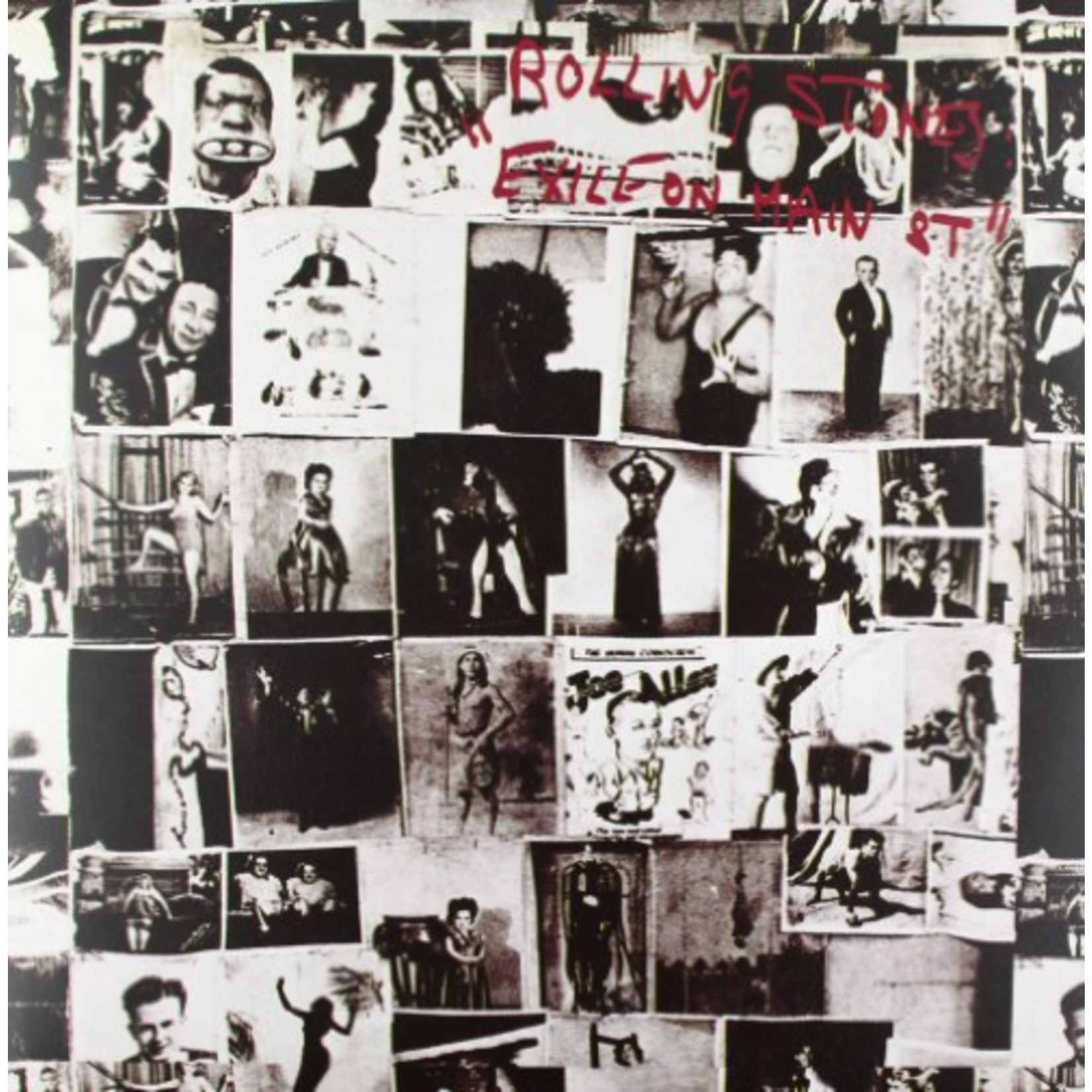 ROLLING STONES EXILE ON MAIN ST.  2LP HALF-SPEED MASTERED
