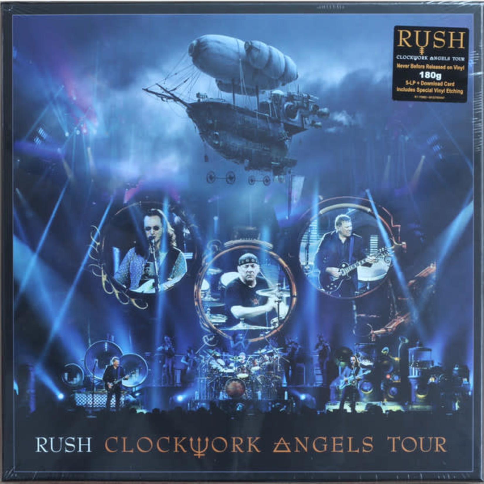 RUSH CLOCKWORK ANGELS TOUR  5LP SET