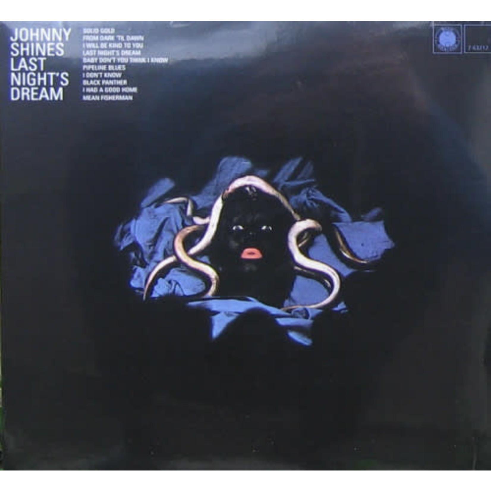 JOHNNY SHINES LAST NIGHT'S DREAM