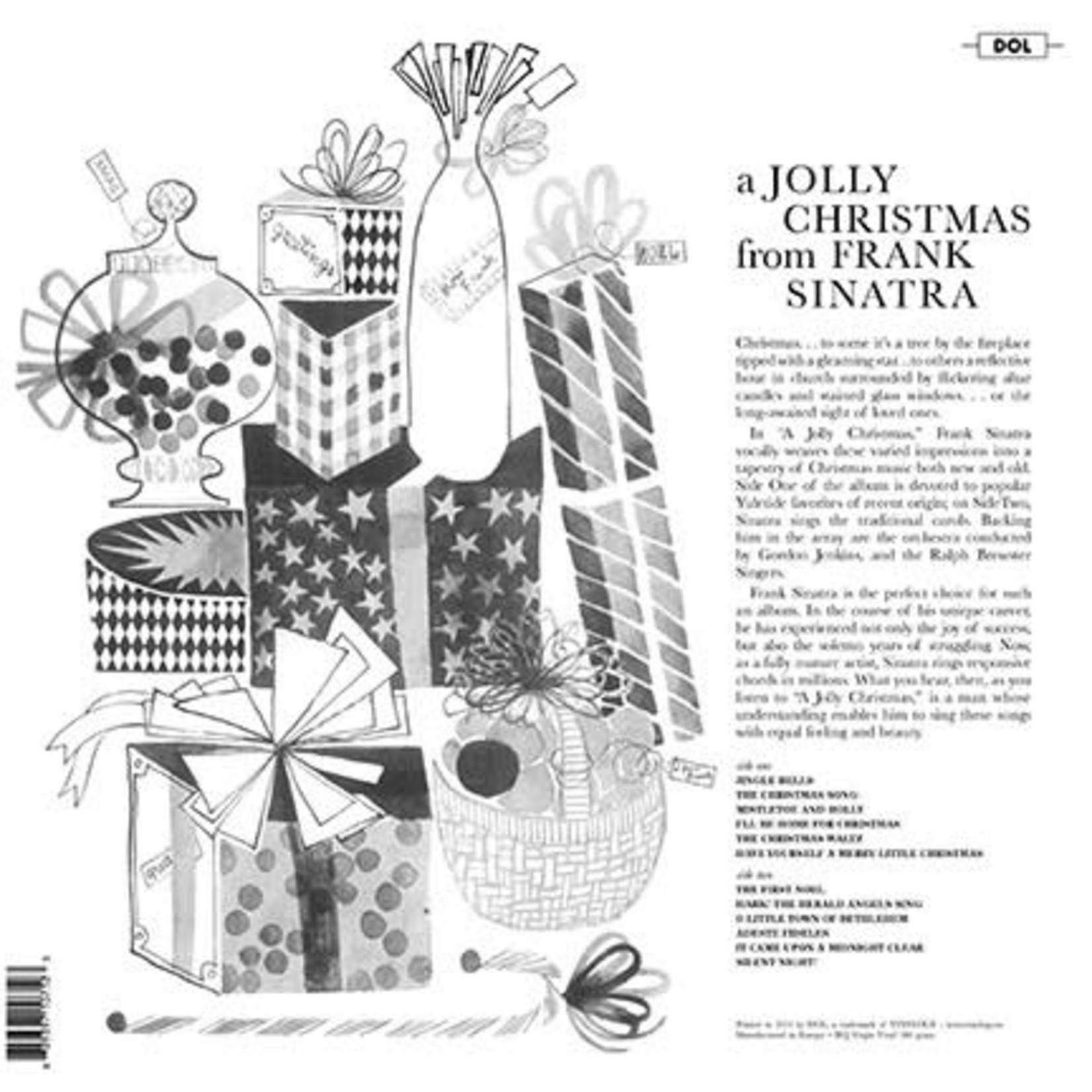FRANK SINATRA A JOLLY CHRISTMAS FROM FRANK SINATRA (GREEN VINYL)