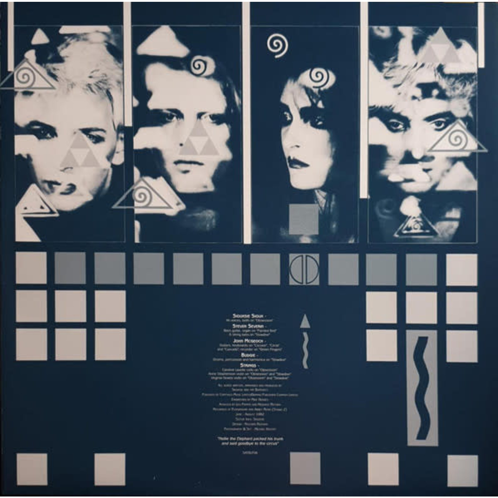 SIOUXSIE & THE BANSHEES A KISS IN THE DREAMHOUSE  LP