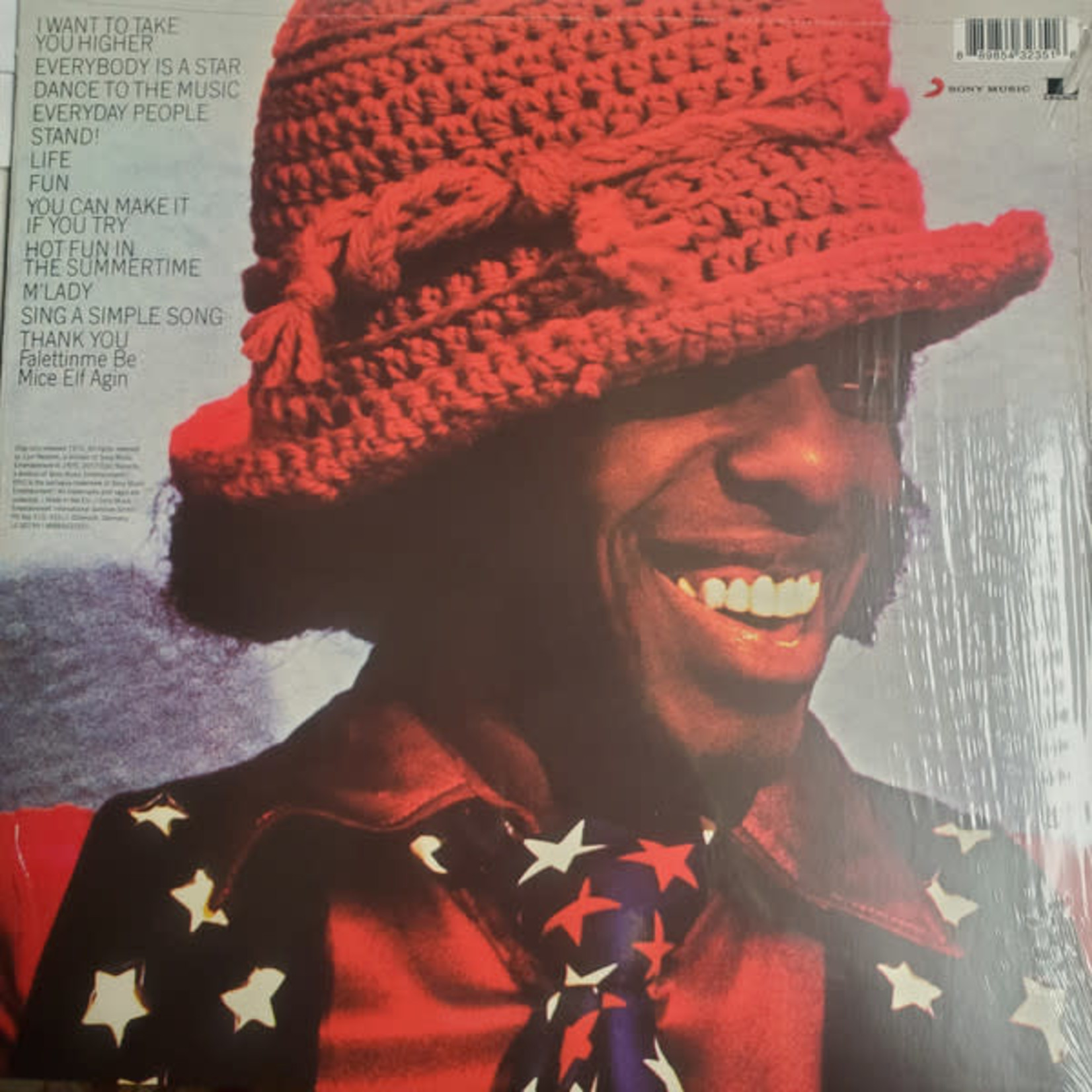 SLY & THE FAMILY STONE GREATEST HITS 1970 LP